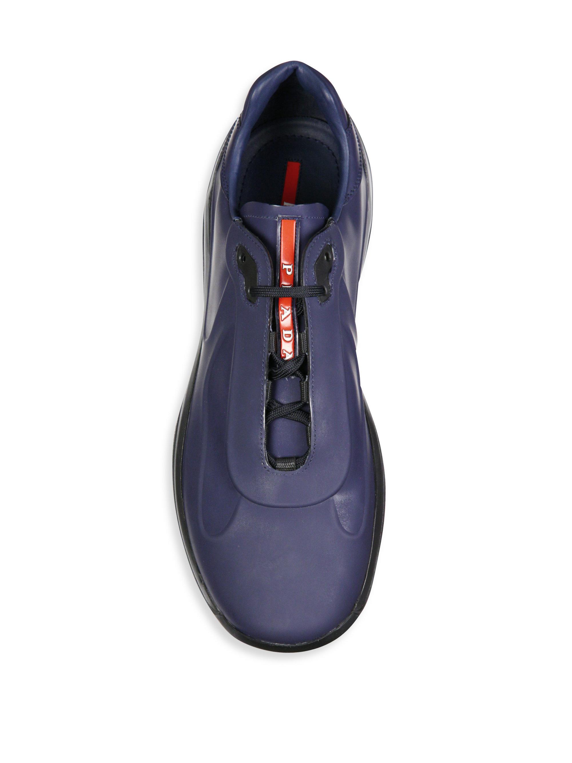 blue prada trainers \u003e Up to 73% OFF