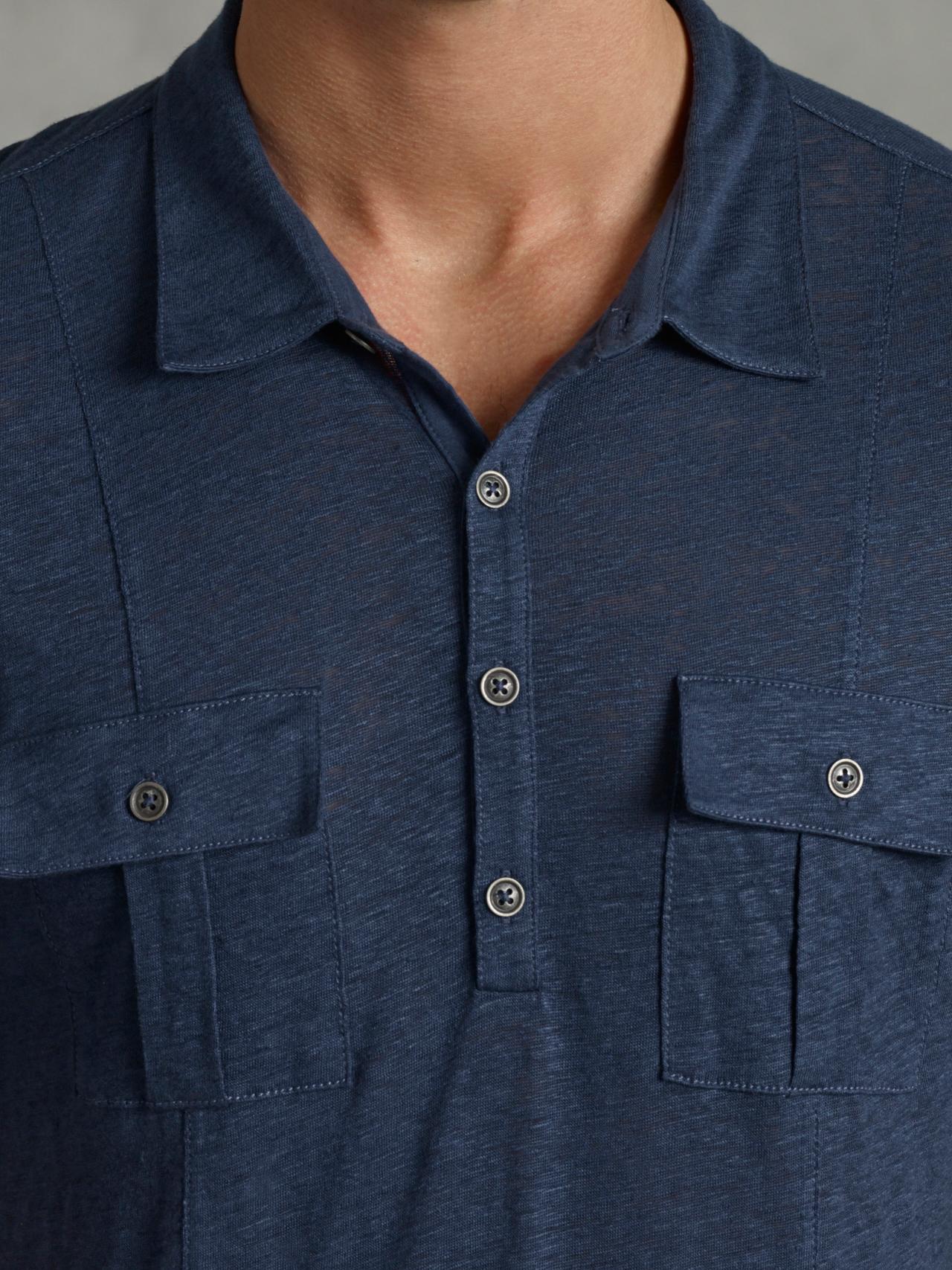 dca16092cdc1 Mens Double Pocket Polo Shirts - BCD Tofu House