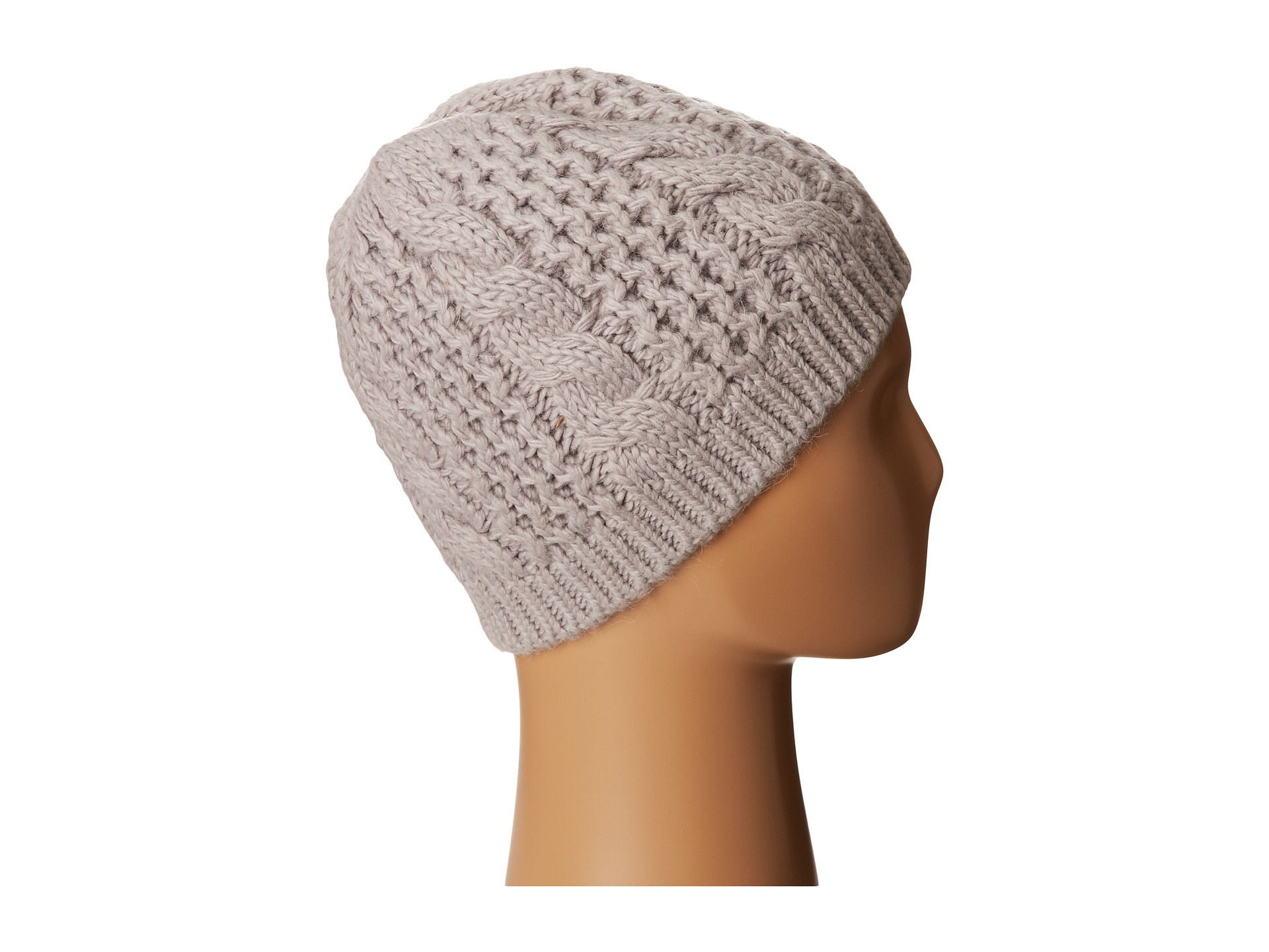 18a90704ee0866 The North Face Cable Minna Beanie in Metallic - Lyst