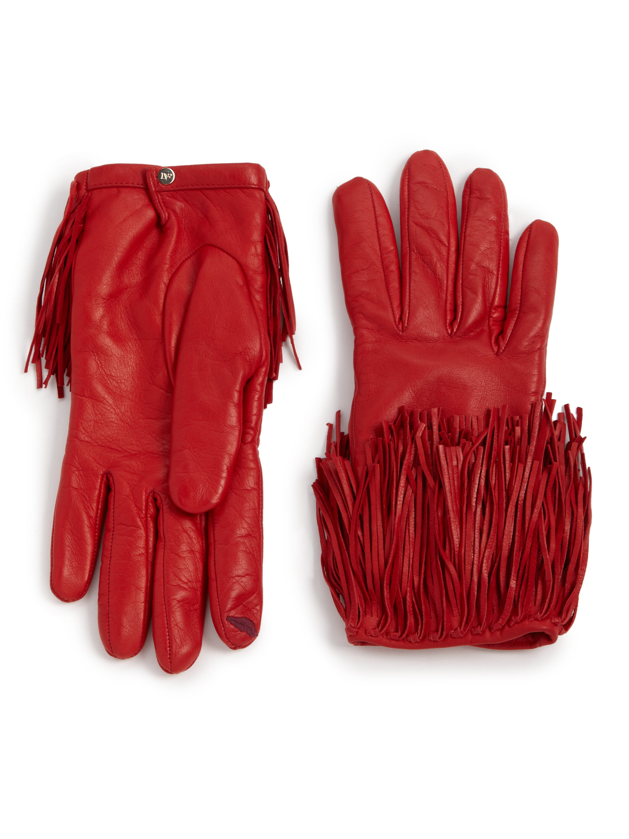 Patent leather driving gloves - Gallery