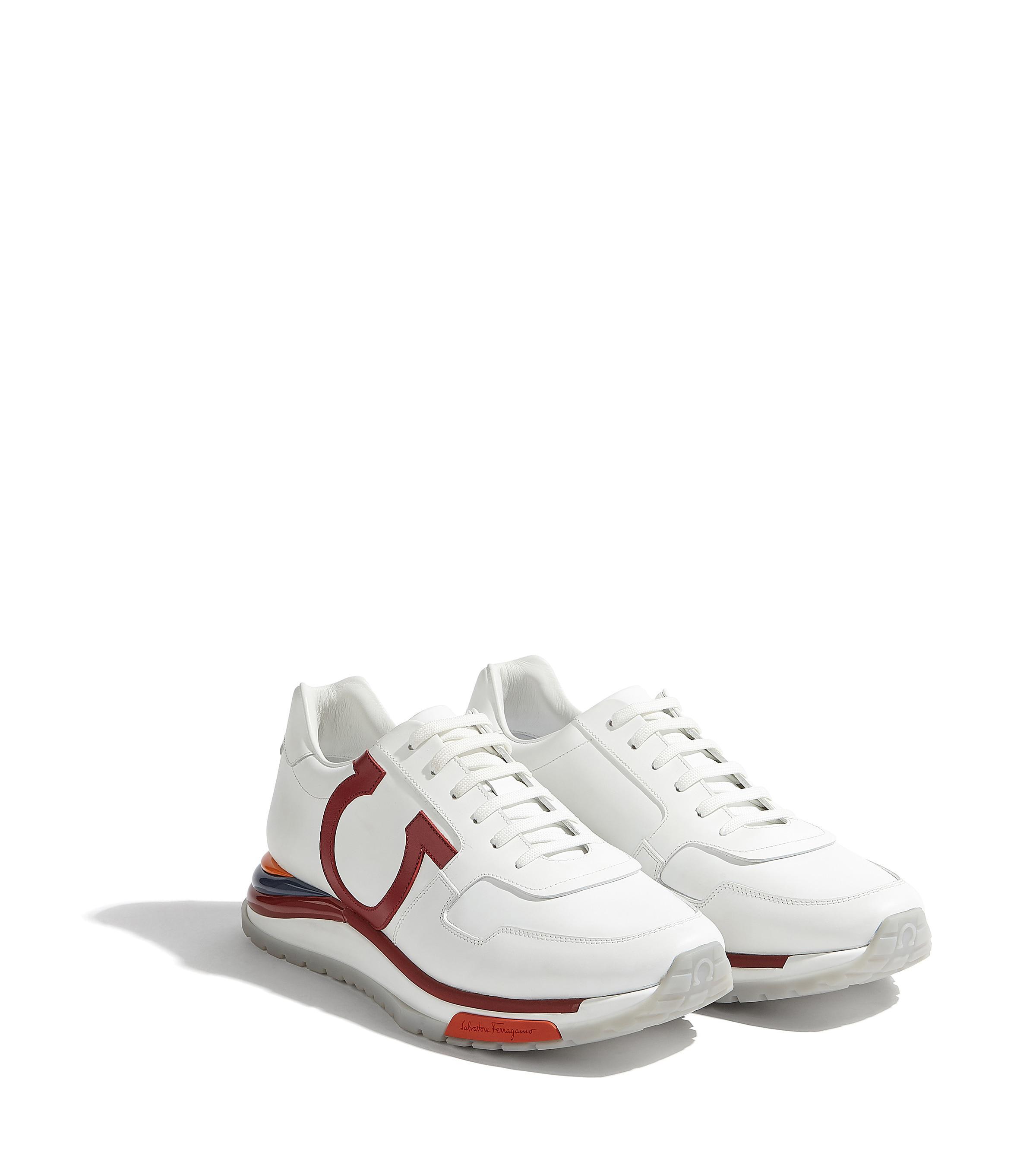 2665ec7d91e Lyst - Ferragamo Rainbow Running Sneaker Shoe in White for Men