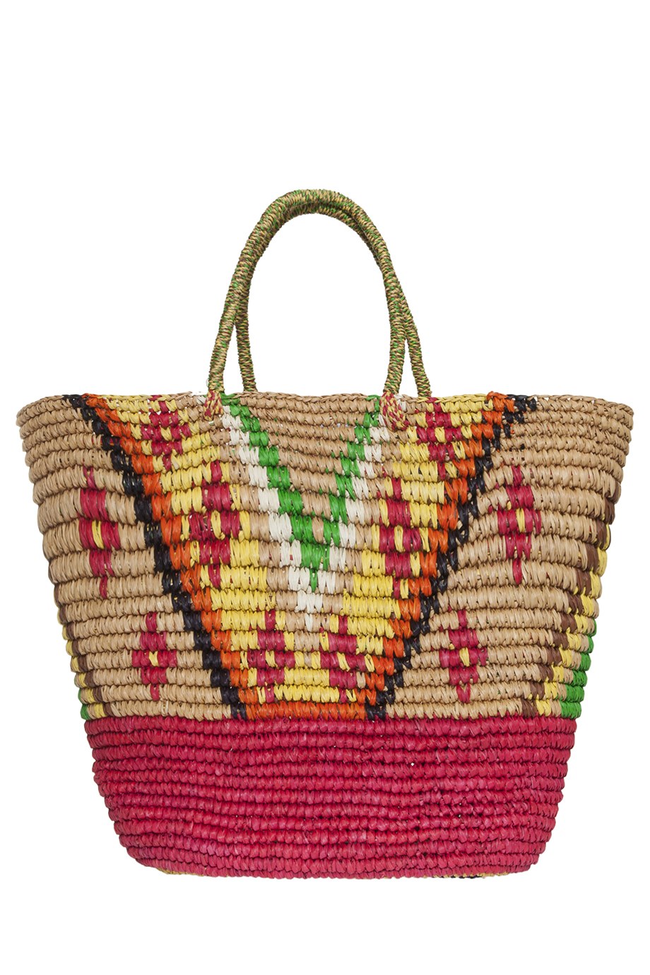 Sensi studio Tribal Straw Beach Bag | Lyst
