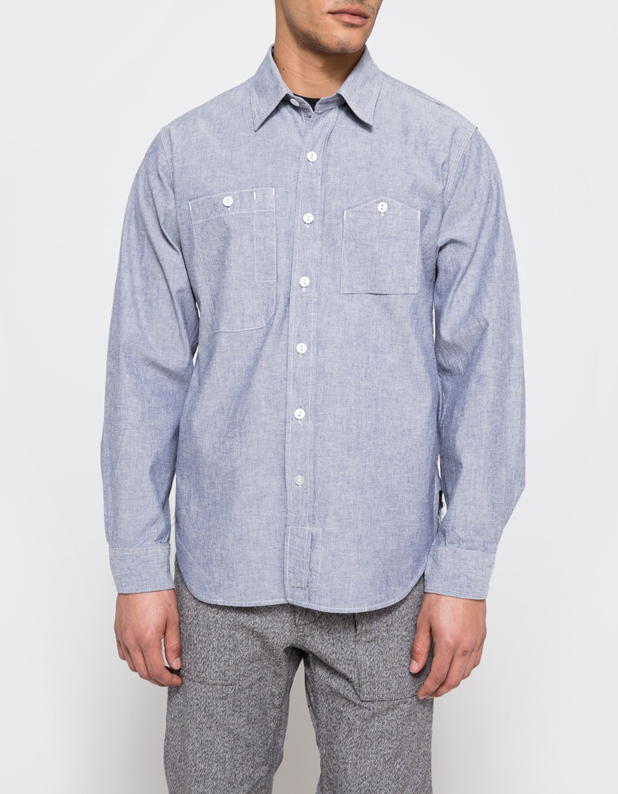 Nov 04, · The Carhartt® Chambray Long-Sleeve Shirt is built for work with a button-down collar with a separate band-and-button closure, 2 button-down chest pockets with mitered flaps, and a back yoke with a centered box pleat for ease of movement.4/5(1).
