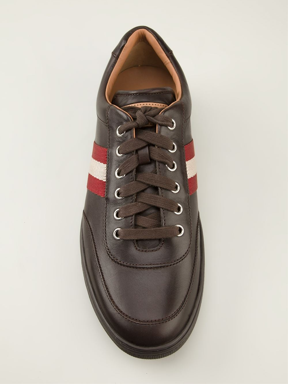 Lyst Bally Oriano Sneakers In Brown For Men