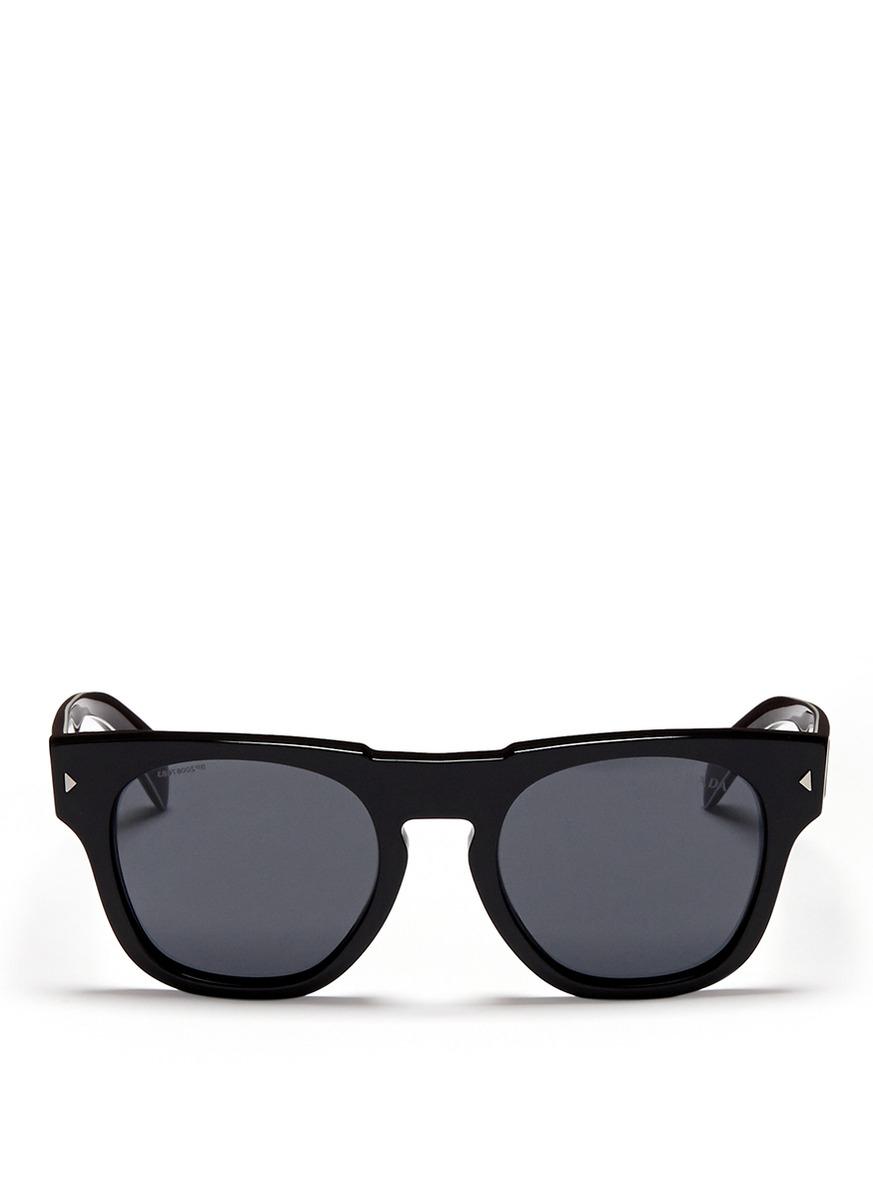 Prada Classic Wayfarer Sunglasses in Black | Lyst