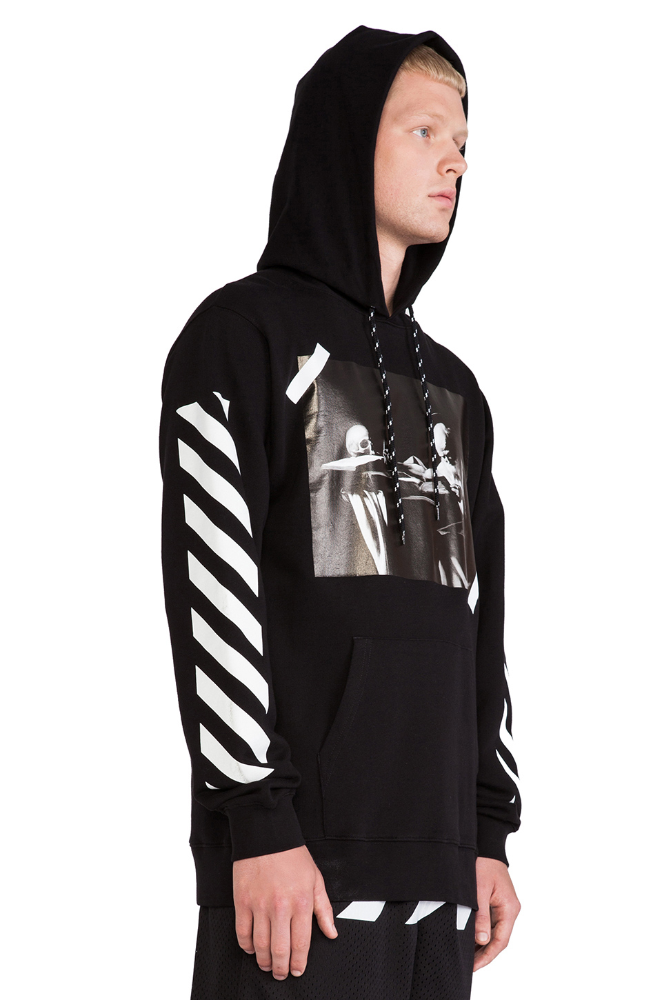 Off-white c/o virgil abloh Hooded Sweatshirt in Black for ...