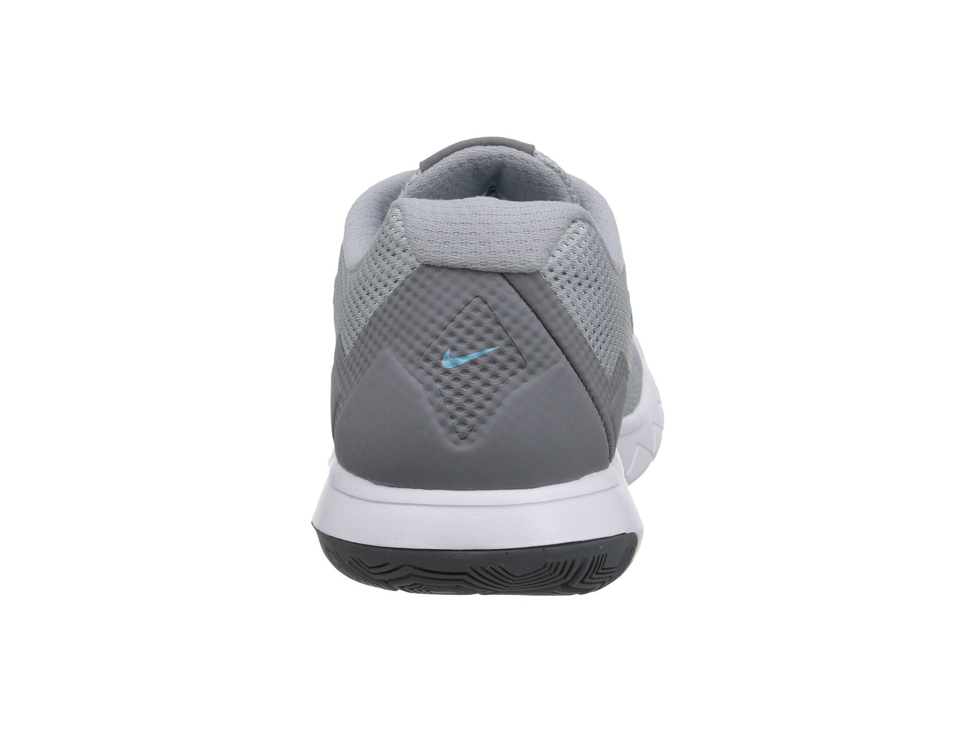 Nike Flex Experience Run 4 in Gray (Wolf Grey/Cool Grey/White/Tide P) | Lyst