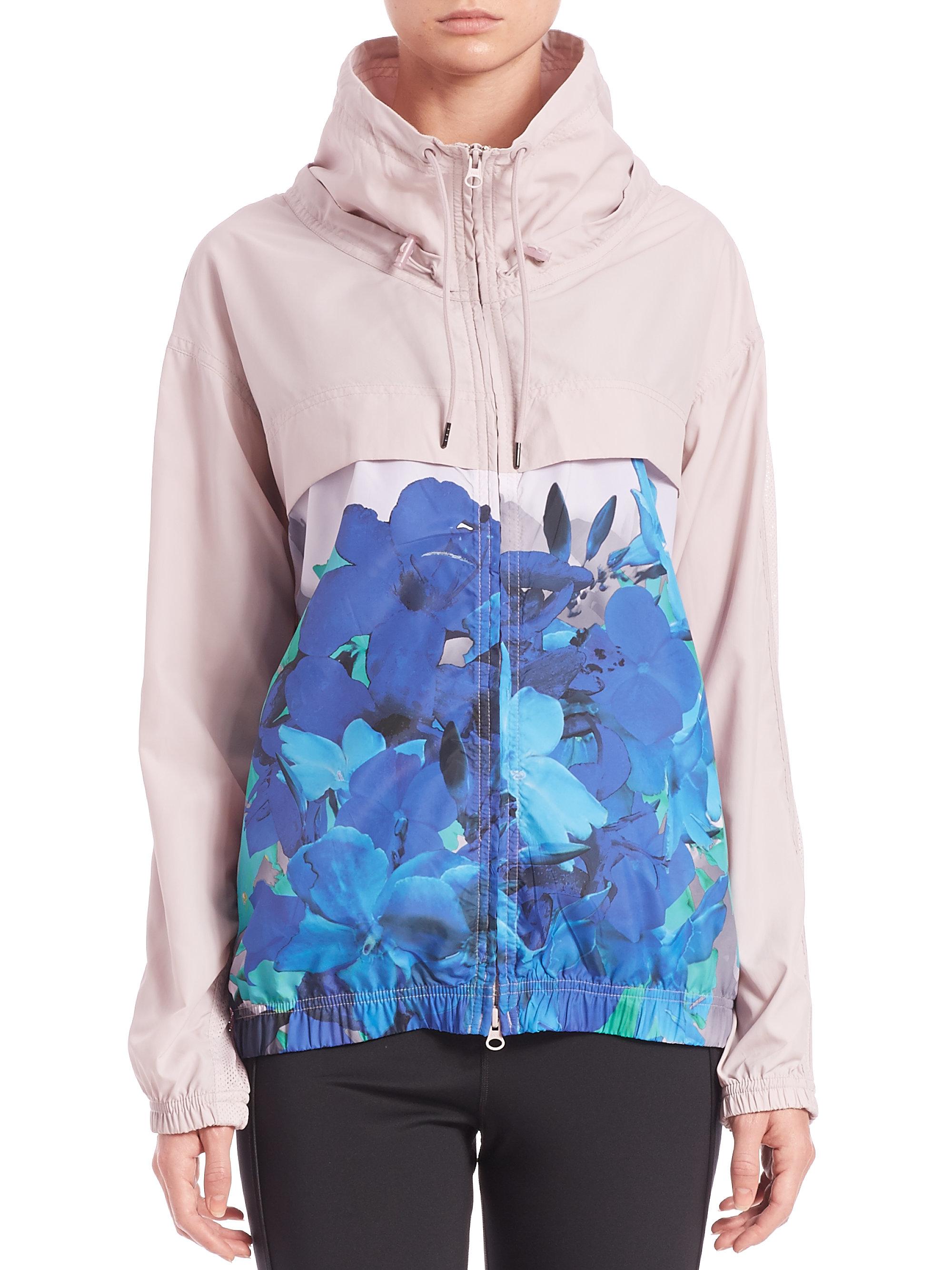 03b8637dc971 Lyst - adidas By Stella McCartney Run Blossom Jacket in Pink