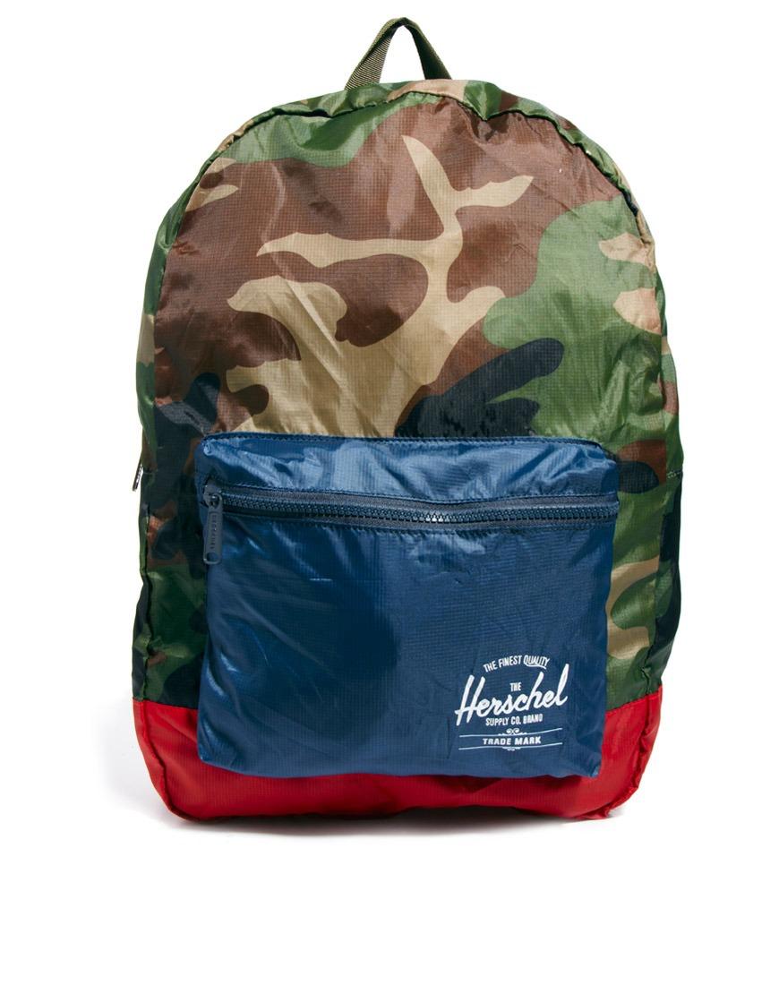 52d84c1bffd0 Lyst - Herschel Supply Co. Packable Backpack for Men