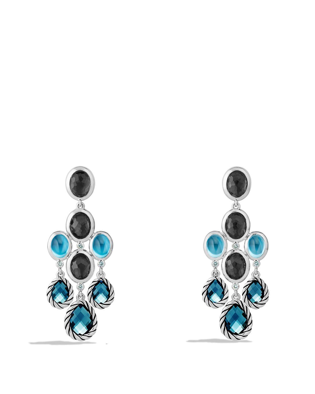 Lyst david yurman ultramarine chandelier earrings with blue gallery mozeypictures Gallery