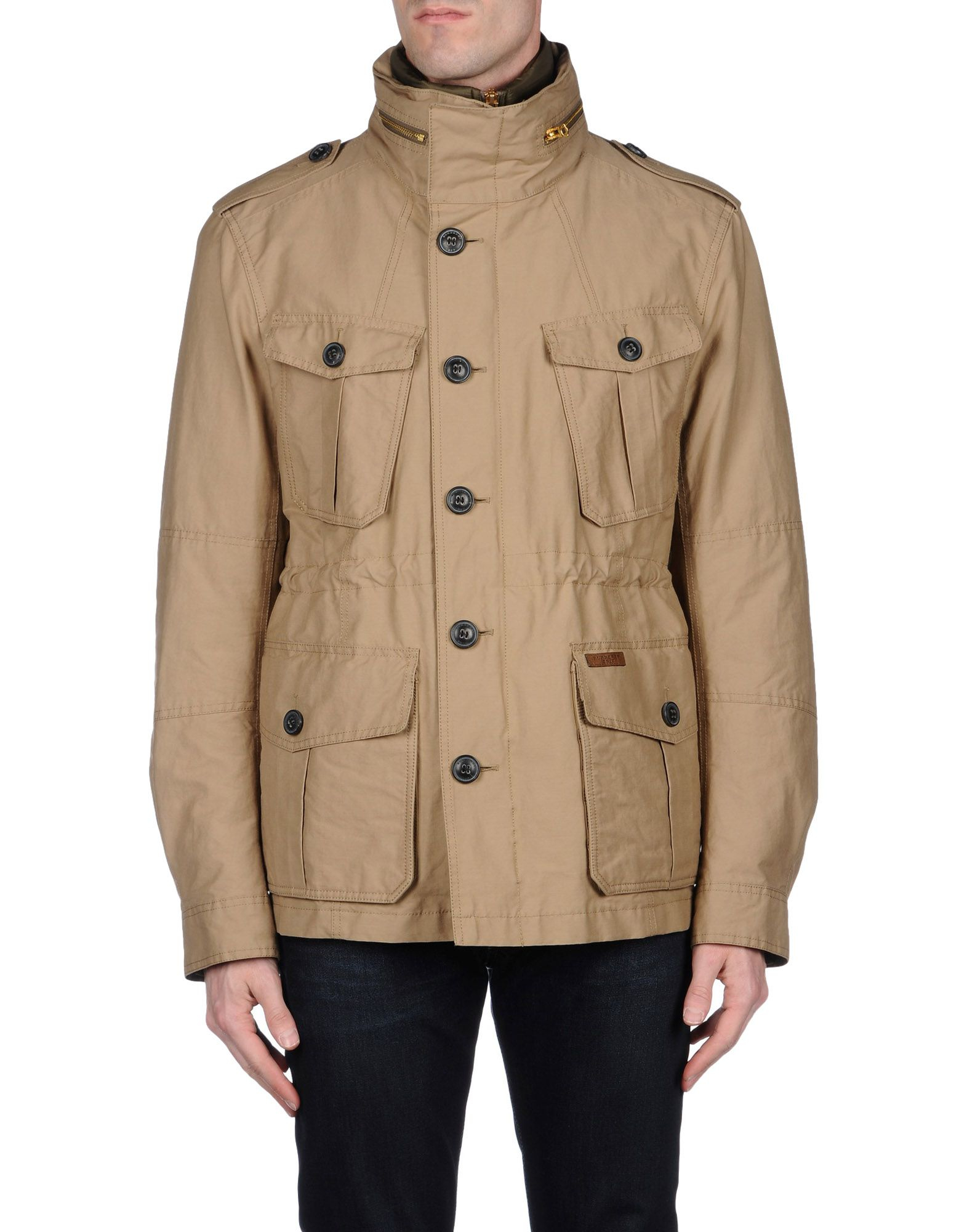 burberry brit jacket in natural for men lyst. Black Bedroom Furniture Sets. Home Design Ideas