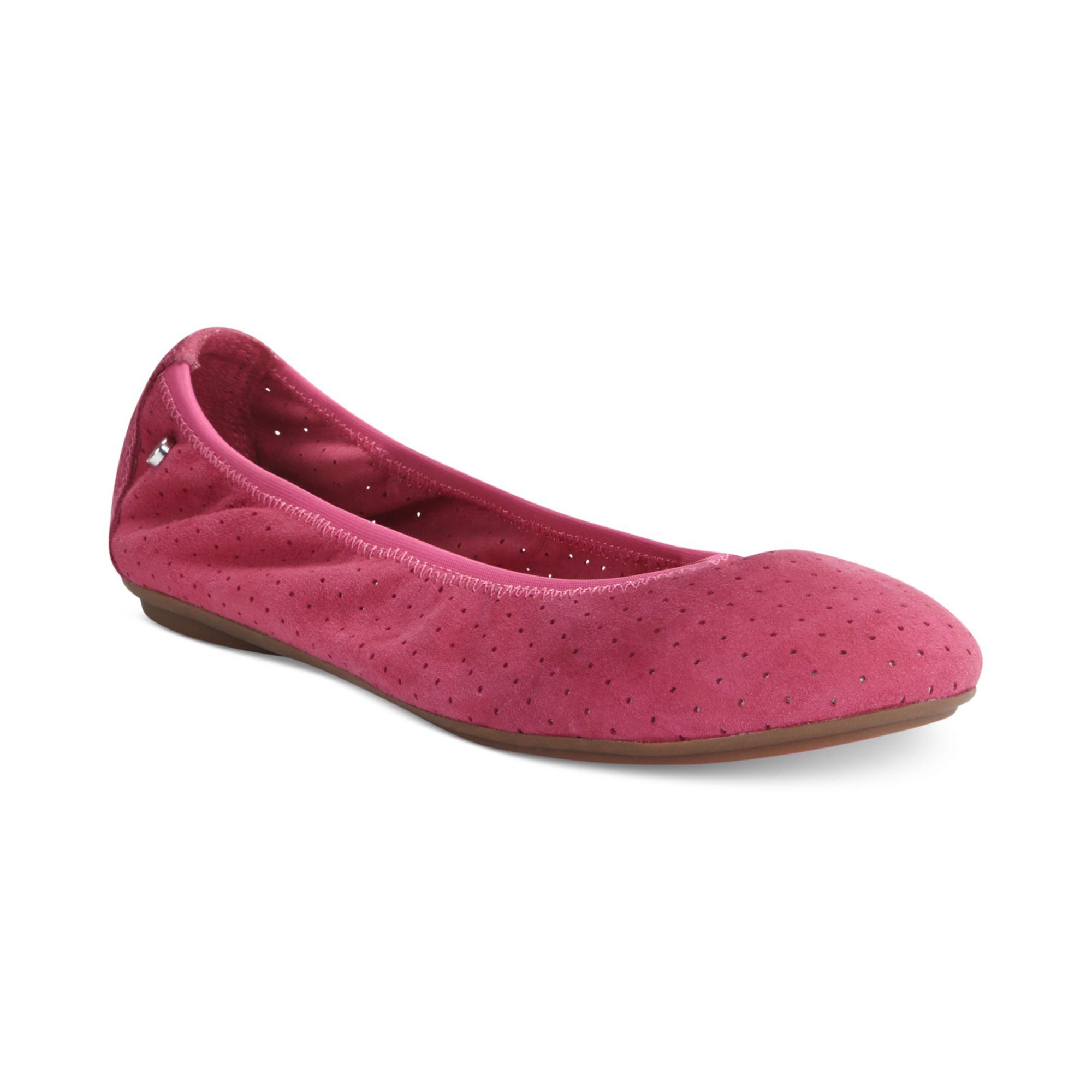 hush puppies womens chaste ballet flats in pink lyst