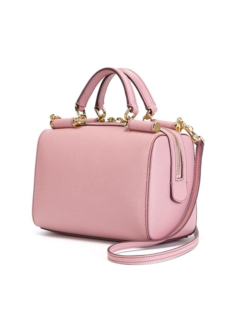 Dolce & Gabbana Miss Sicily Bowler Bag Leather Medium Ijq6ZEt3Eb