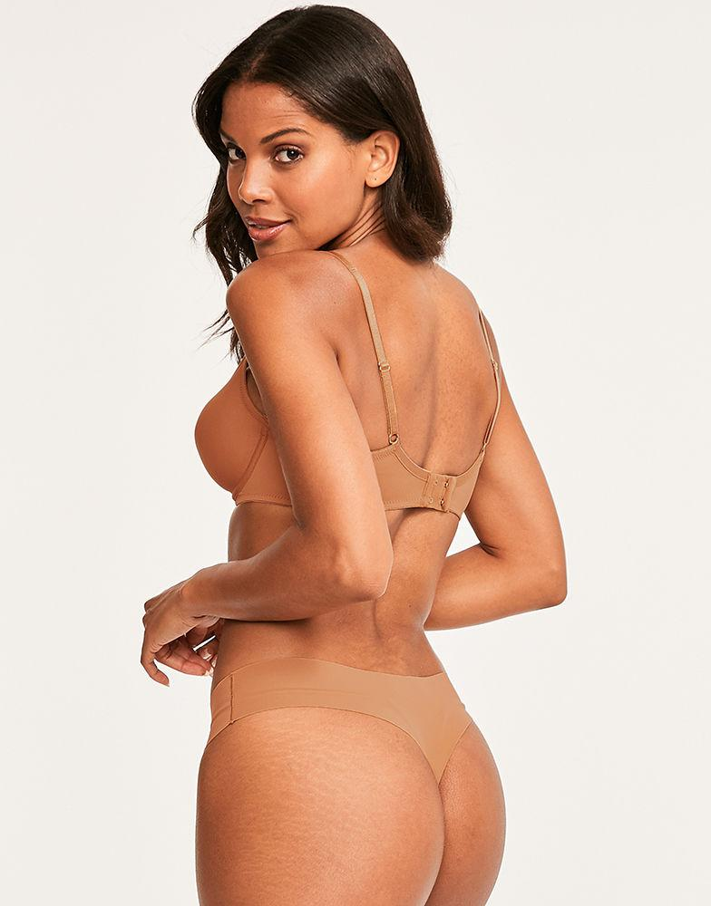 fa7f21759d2 Nubian Skin Naked Moulded Bra in Natural - Lyst