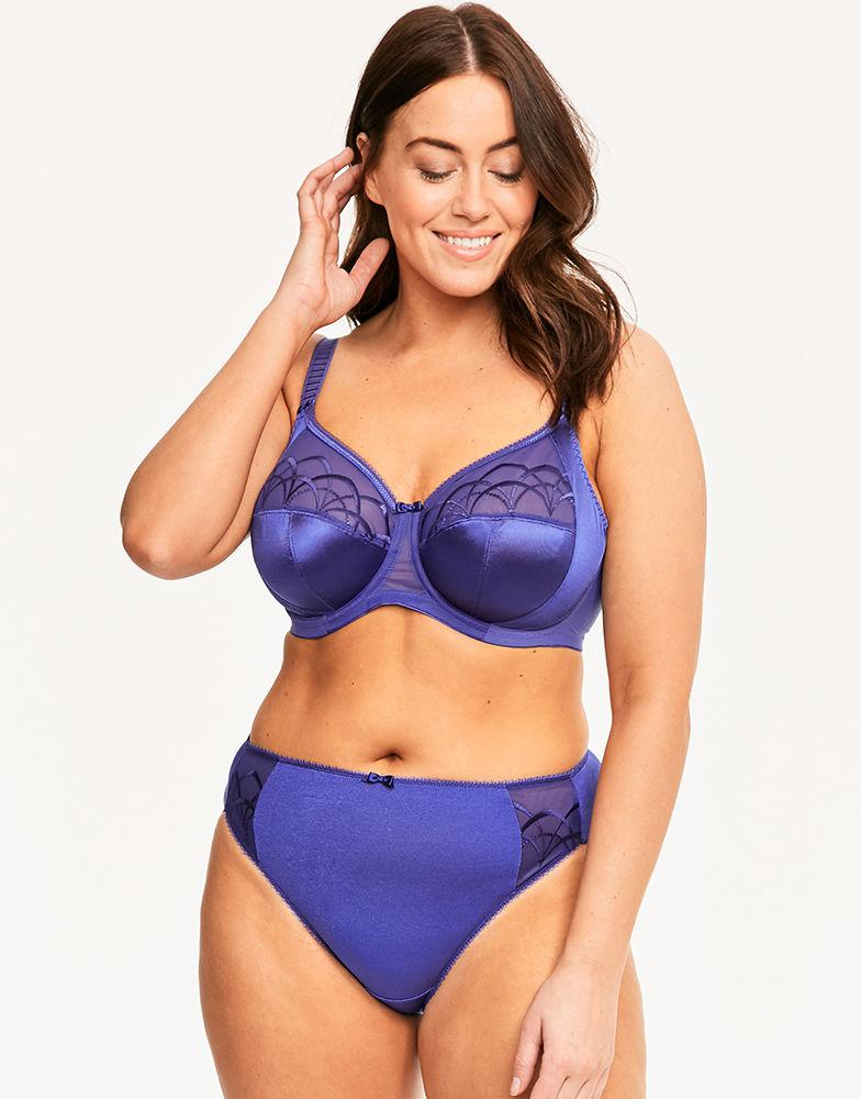 e152f7b5a2684 Elomi Cate Underwired Full Cup Banded Bra in Blue - Lyst