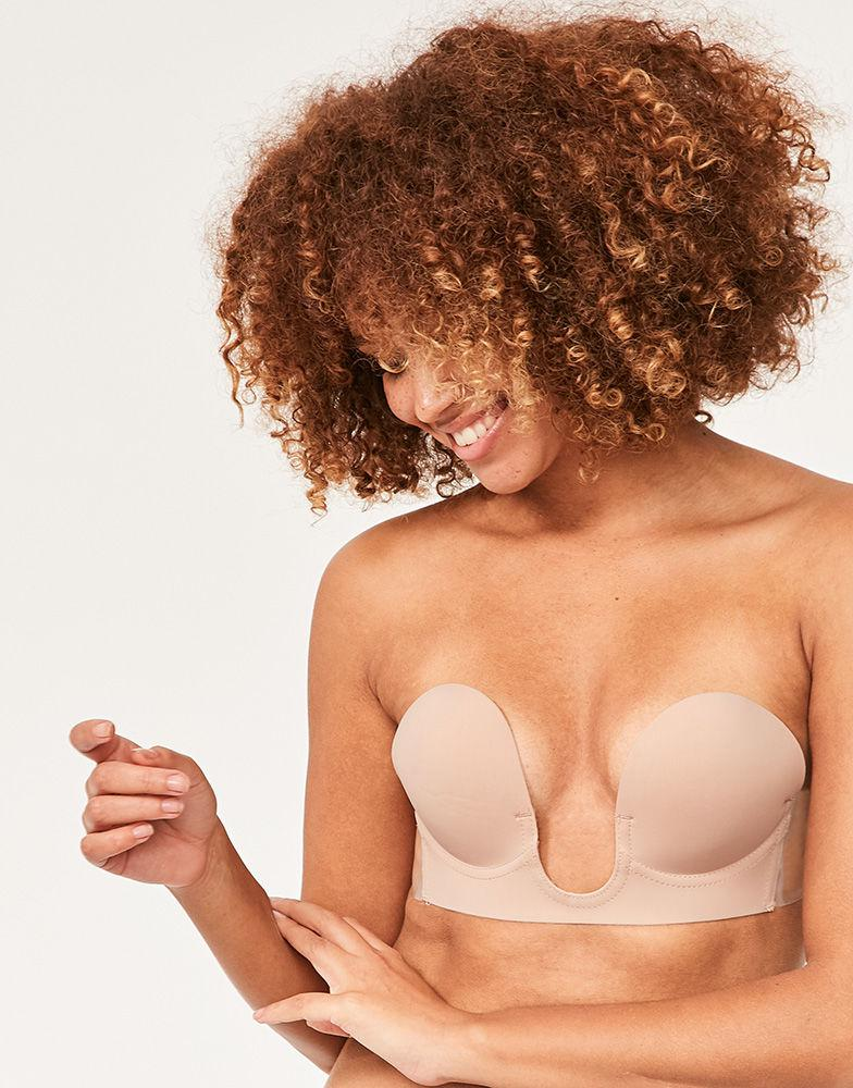 a722ec82c3f Fashion Forms U Plunge Backless Strapless Bra in Natural - Lyst