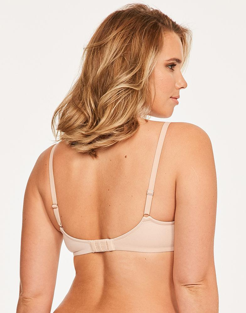 bdc516fd1e6a0 Figleaves Smoothing Plunge Bra A-h Cup in Natural - Lyst