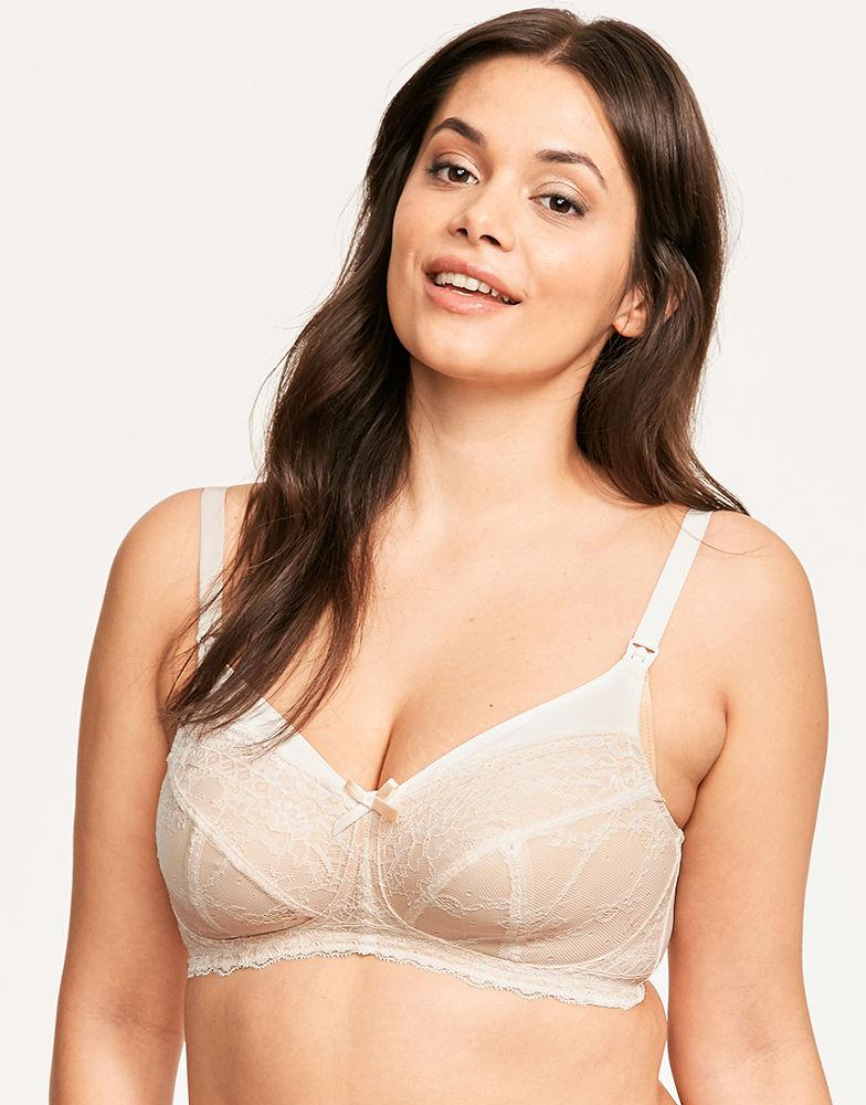 ab66df241d Panache - Natural Sophie Non-wired Nursing Bra - Lyst. View fullscreen
