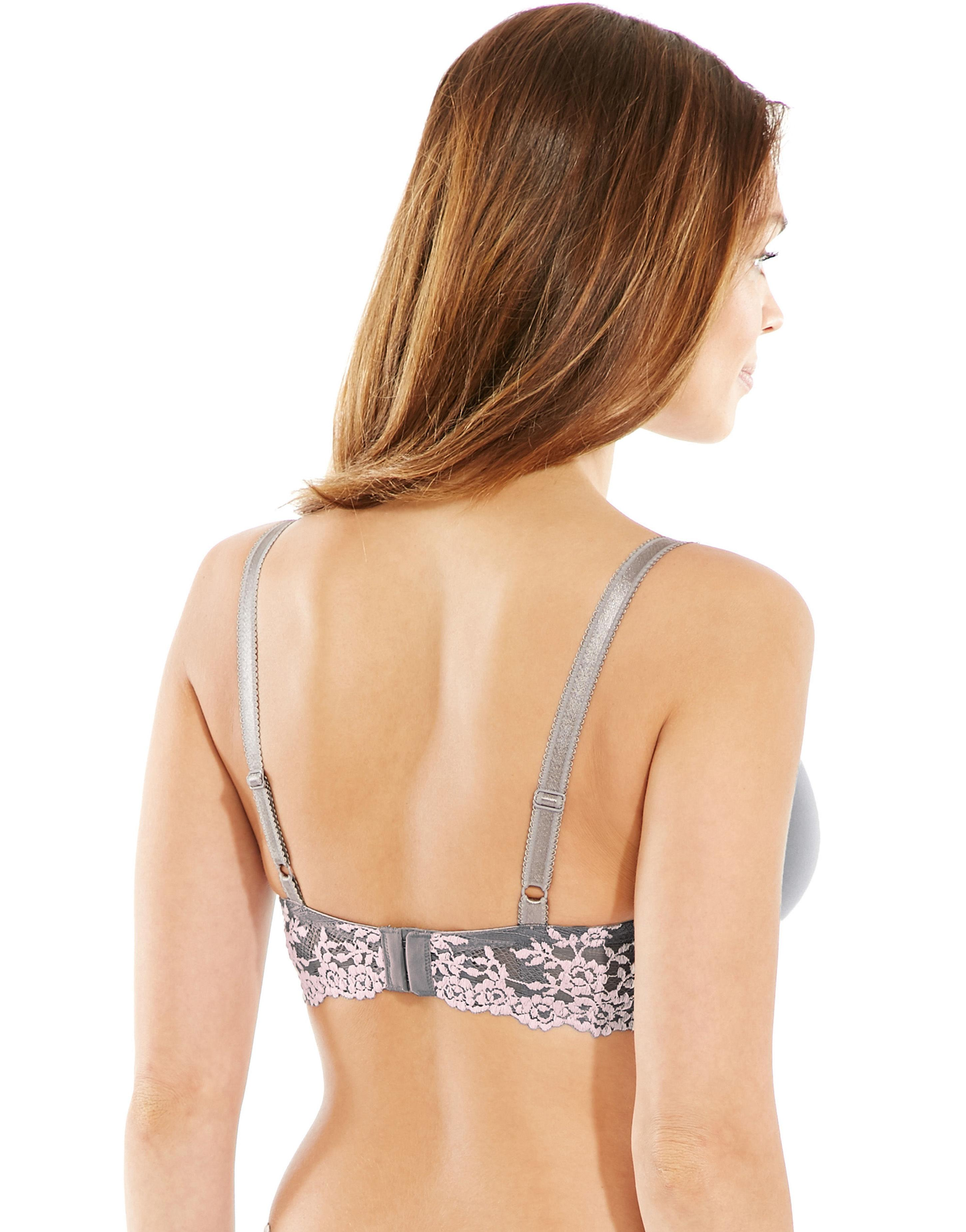 ae29c9f021 Wacoal Embrace Lace Contour Bra in Gray - Lyst