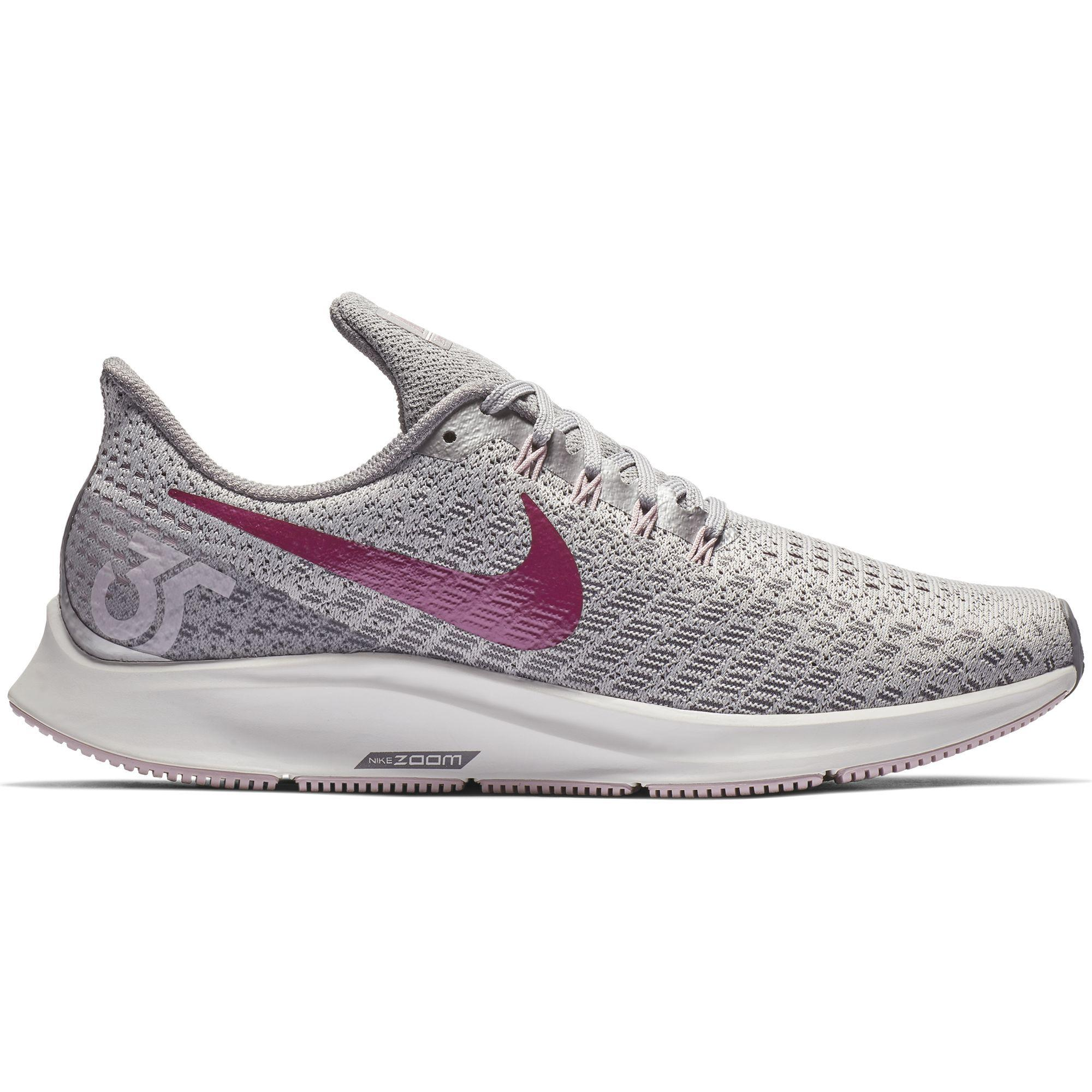 e7ddec42e28 Nike. Women s Gray Air Zoom Pegasus 35 Running Shoe ...