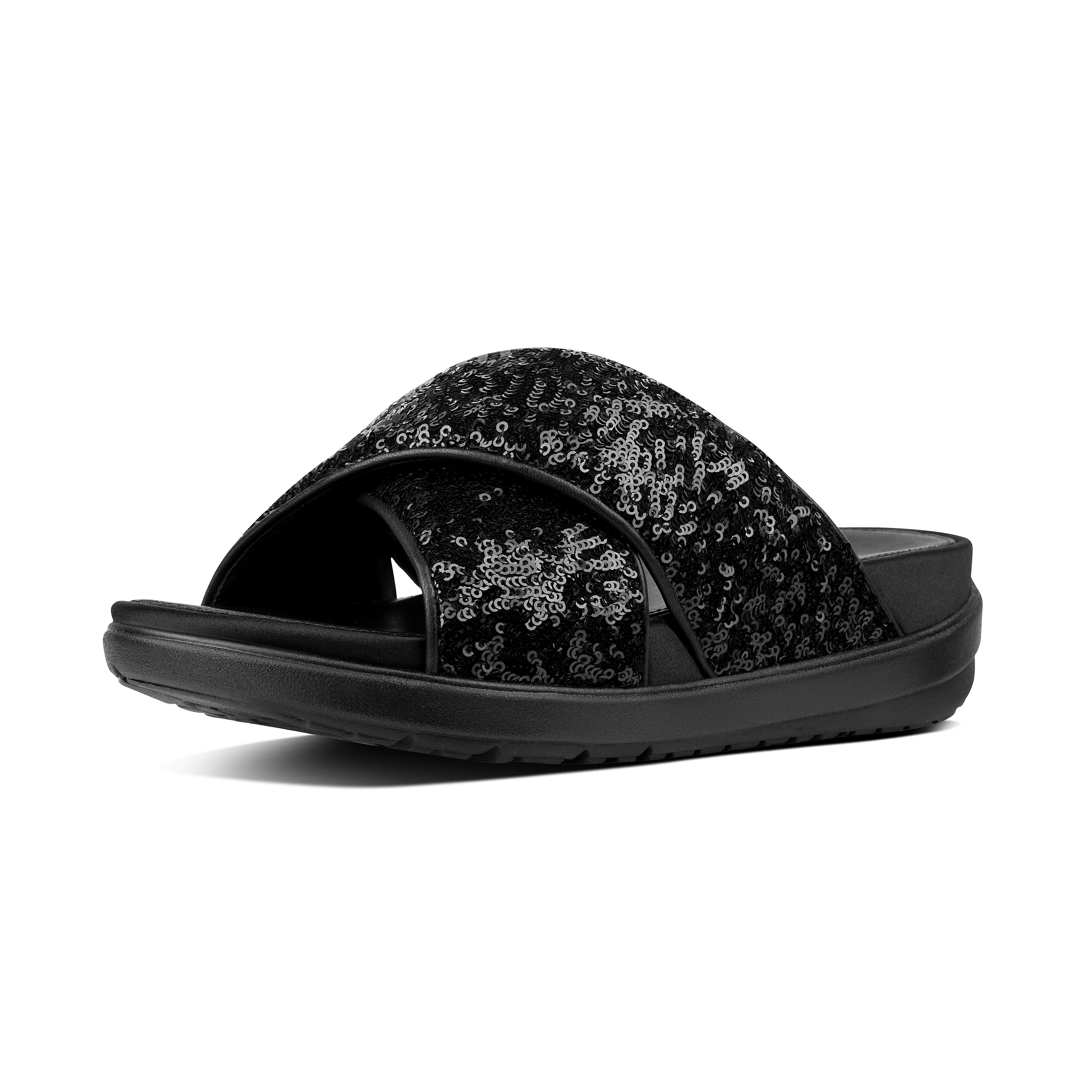e6078c6b9ed0 Lyst - Fitflop Loosh Luxe in Black