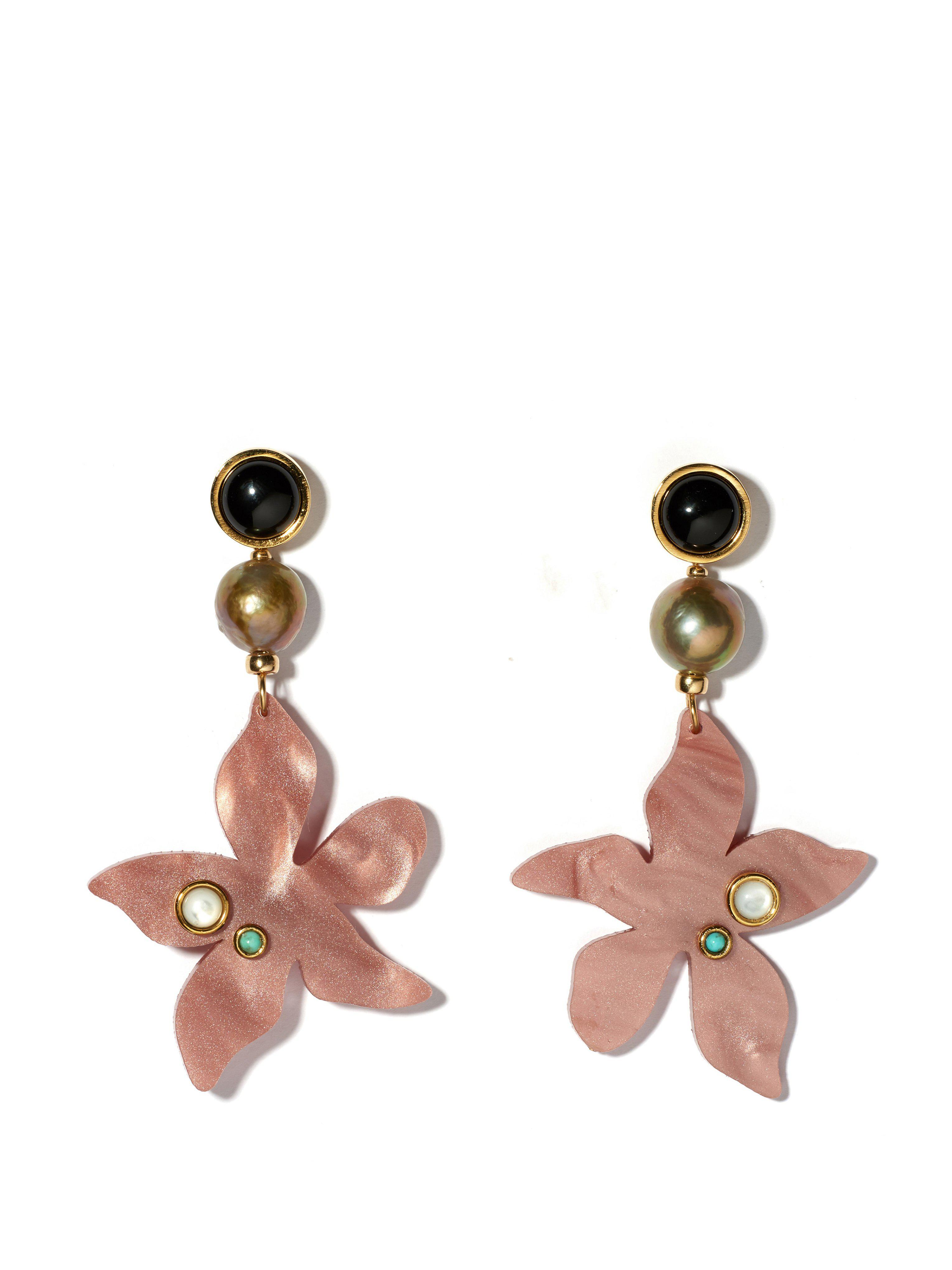 Lizzie Fortunato Women S Portugal Poppy Earrings
