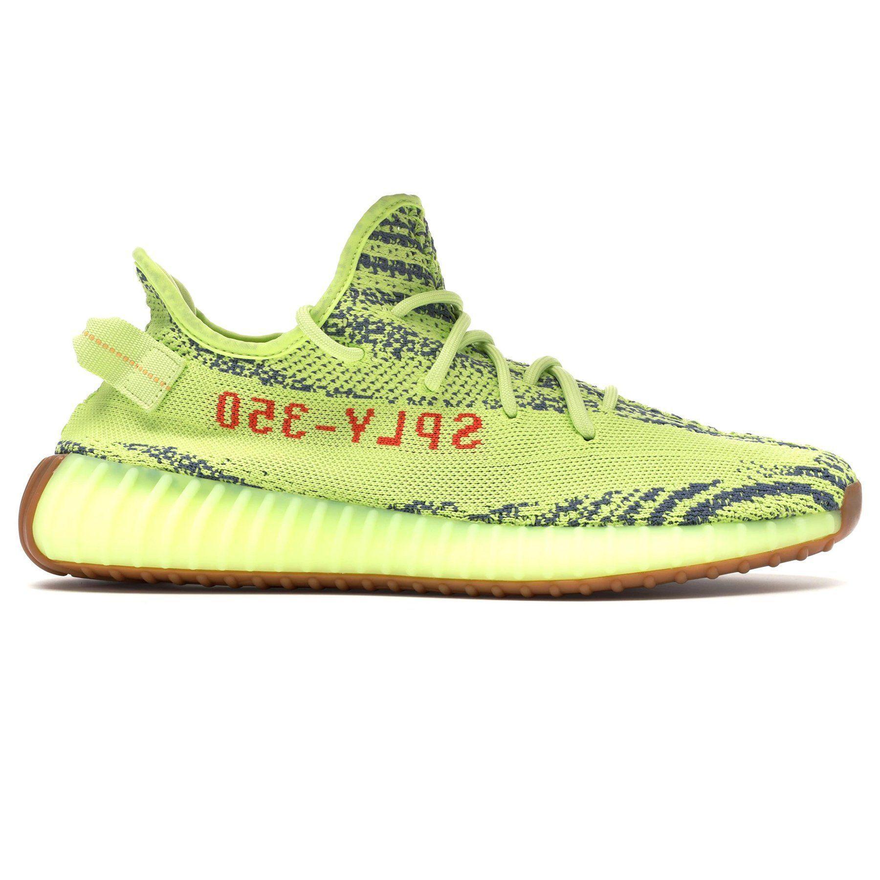 13519ec9 Yeezy Semi Frozen Yellow Boost 350 V2 By in Yellow for Men - Lyst