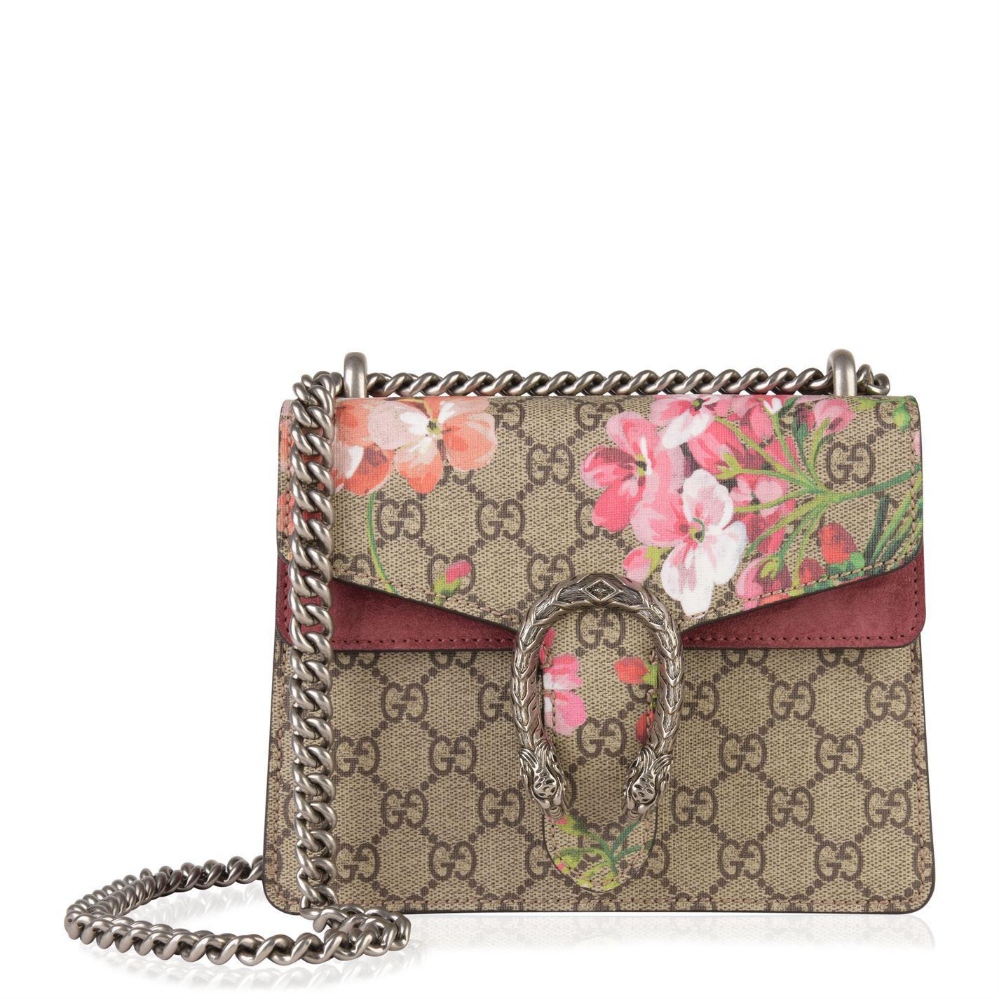 30c04b7a950 Lyst - Gucci Bloom Dionysus Bag in Natural