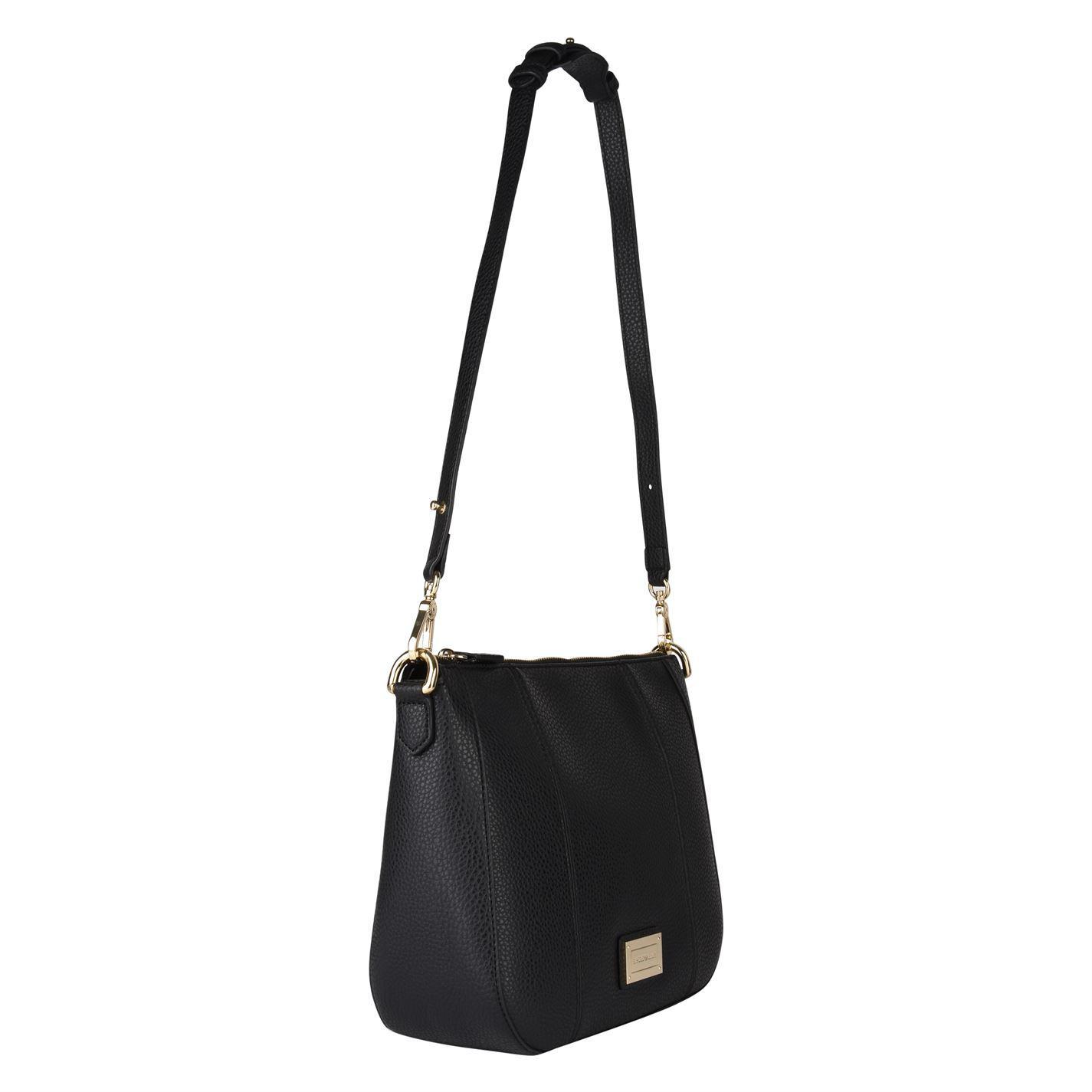022333676150 Lyst - Emporio Armani Spalla Pebbled Cross Body Bag in Black