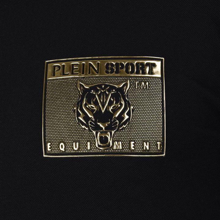 391ce98e91c Philipp Plein Metallic Logo Polo Shirt in Black for Men - Lyst