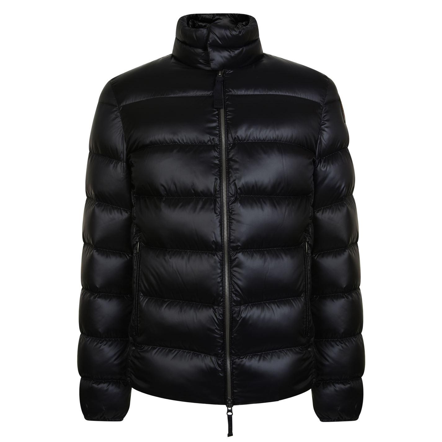 Parajumpers. Men's Black Dillon Down Bomber Jacket