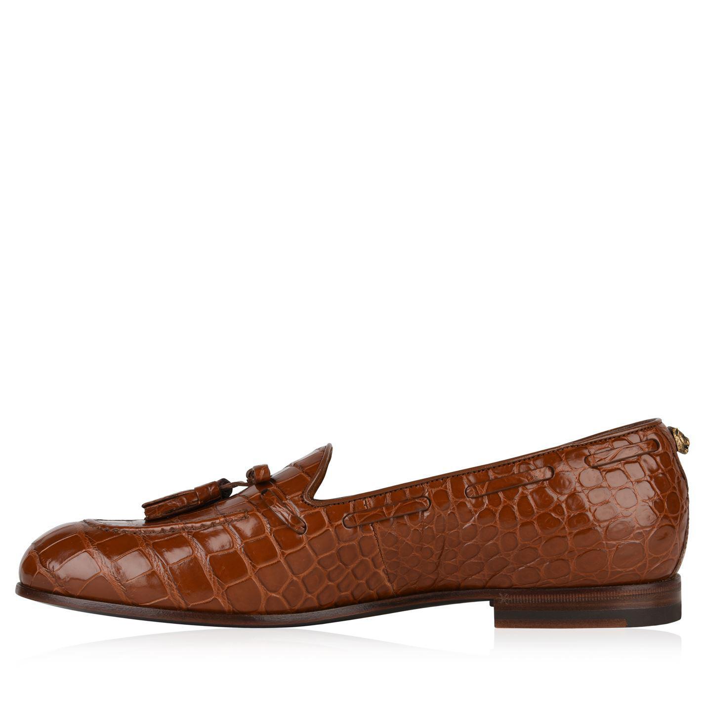 b0b507dd2c2 Gucci - Brown Loomis Tassel Loafers for Men - Lyst. View fullscreen