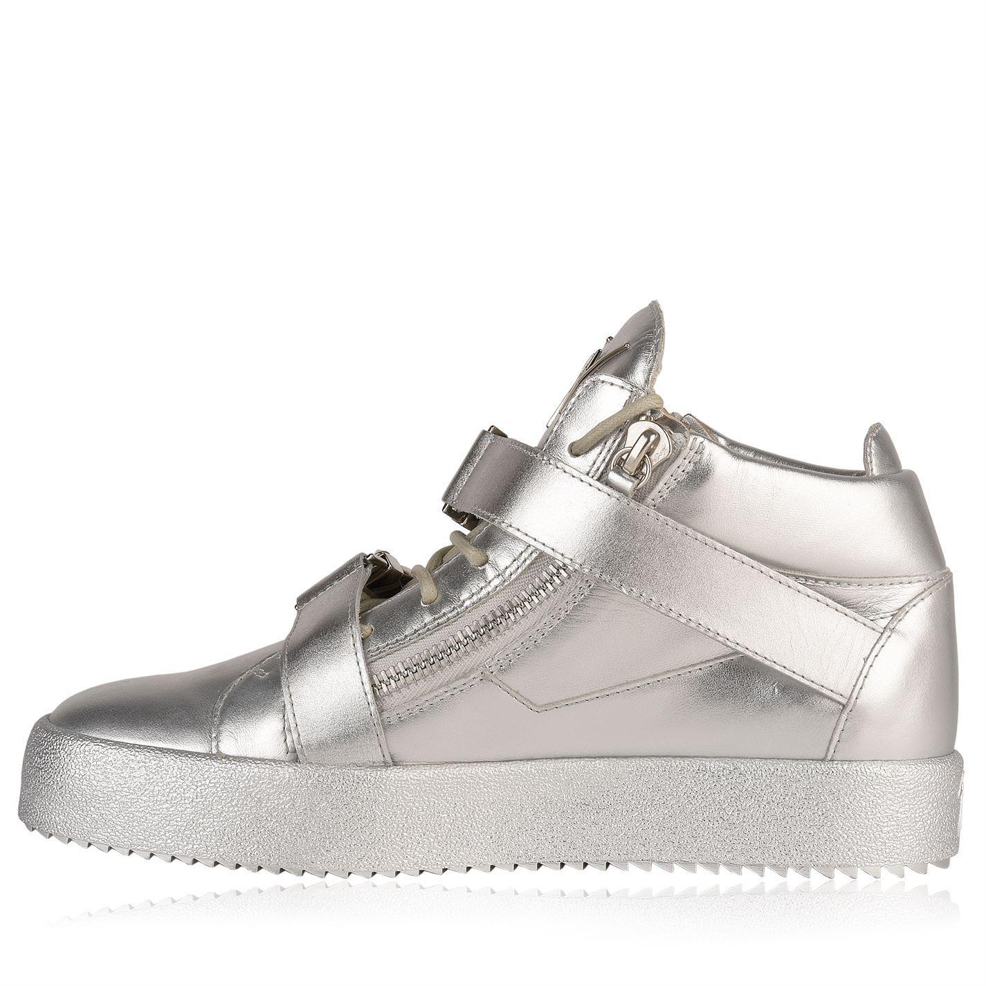 0dcbd88979827 Giuseppe Zanotti Tribute High Sneakers in Metallic for Men - Lyst