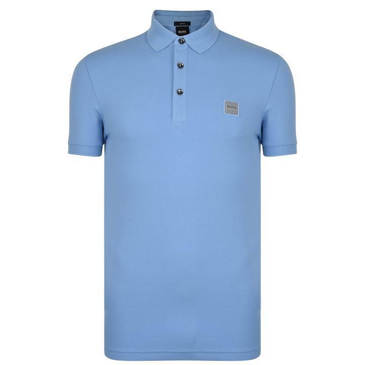 f96bb34db BOSS by Hugo Boss Passenger Logo Polo Shirt in Blue for Men - Lyst