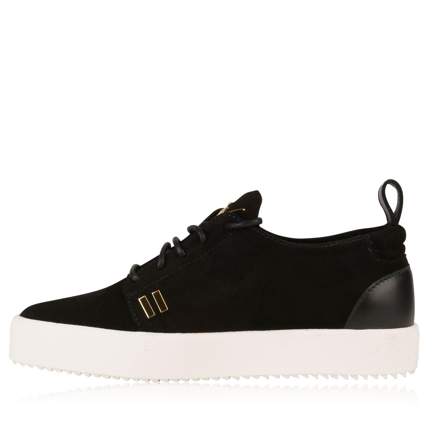 ff09ab79e6ef2 Giuseppe Zanotti Logoball May Low Top Trainers in Black for Men - Lyst
