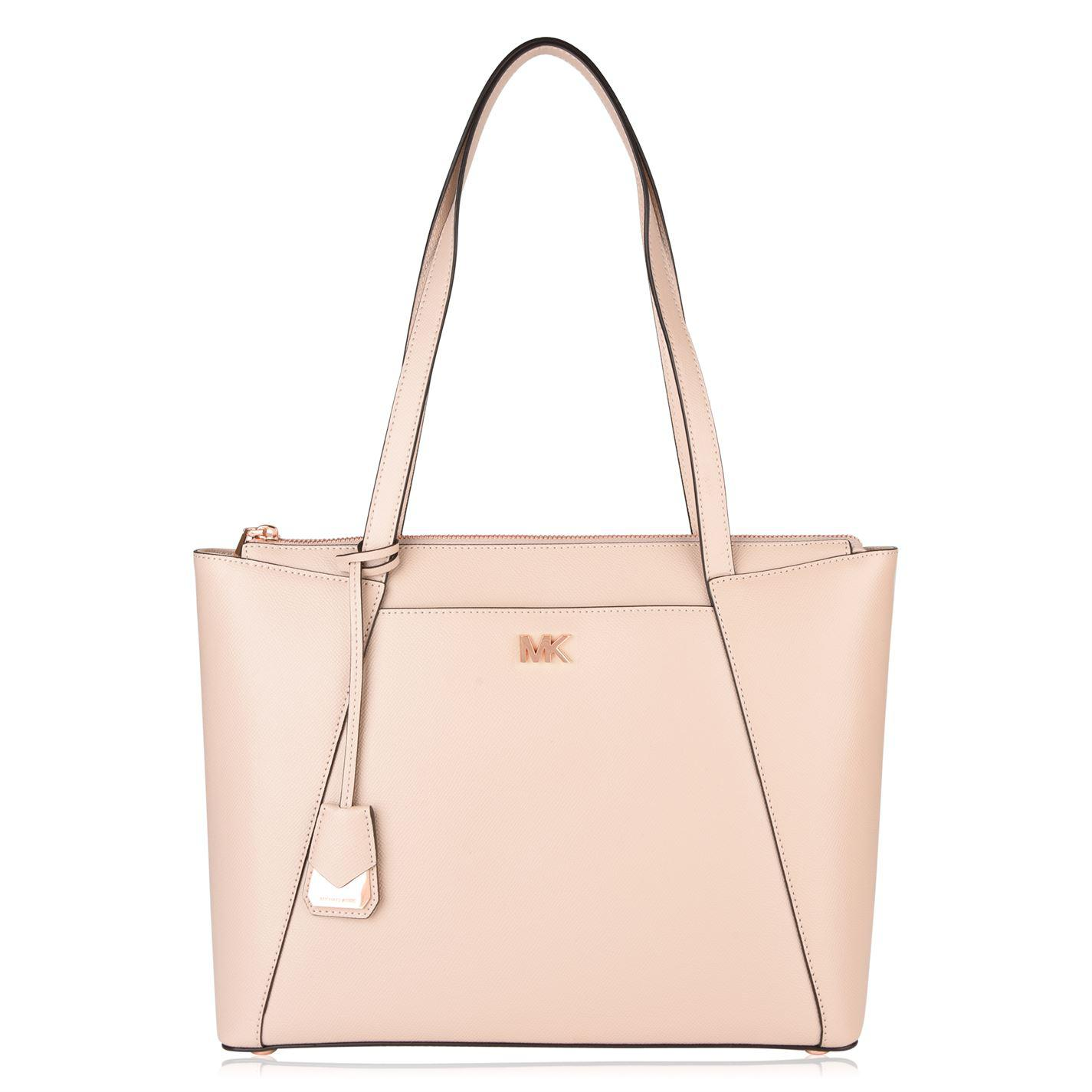 65801edcacda MICHAEL Michael Kors Maddie Medium Tote Bag in Pink - Lyst