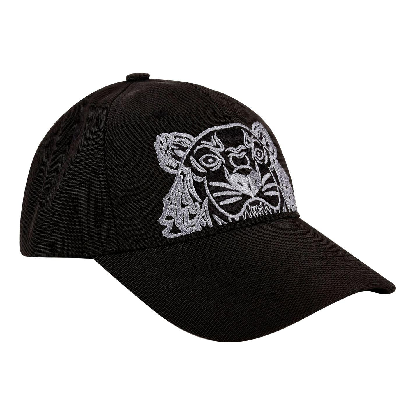 d8d5d2906cc KENZO Tiger Cap in Black for Men - Lyst
