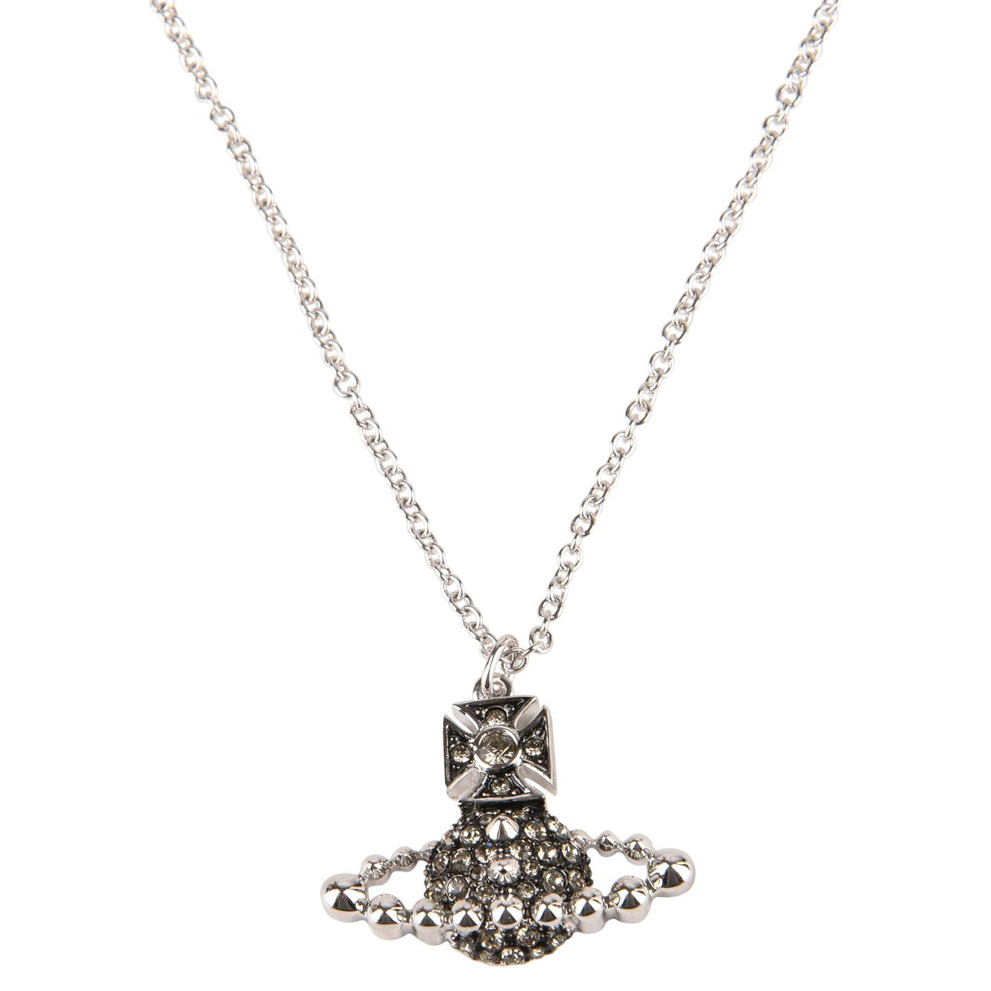 e17eb365a048f Lyst - Vivienne Westwood Lena Pendant Necklace in Metallic