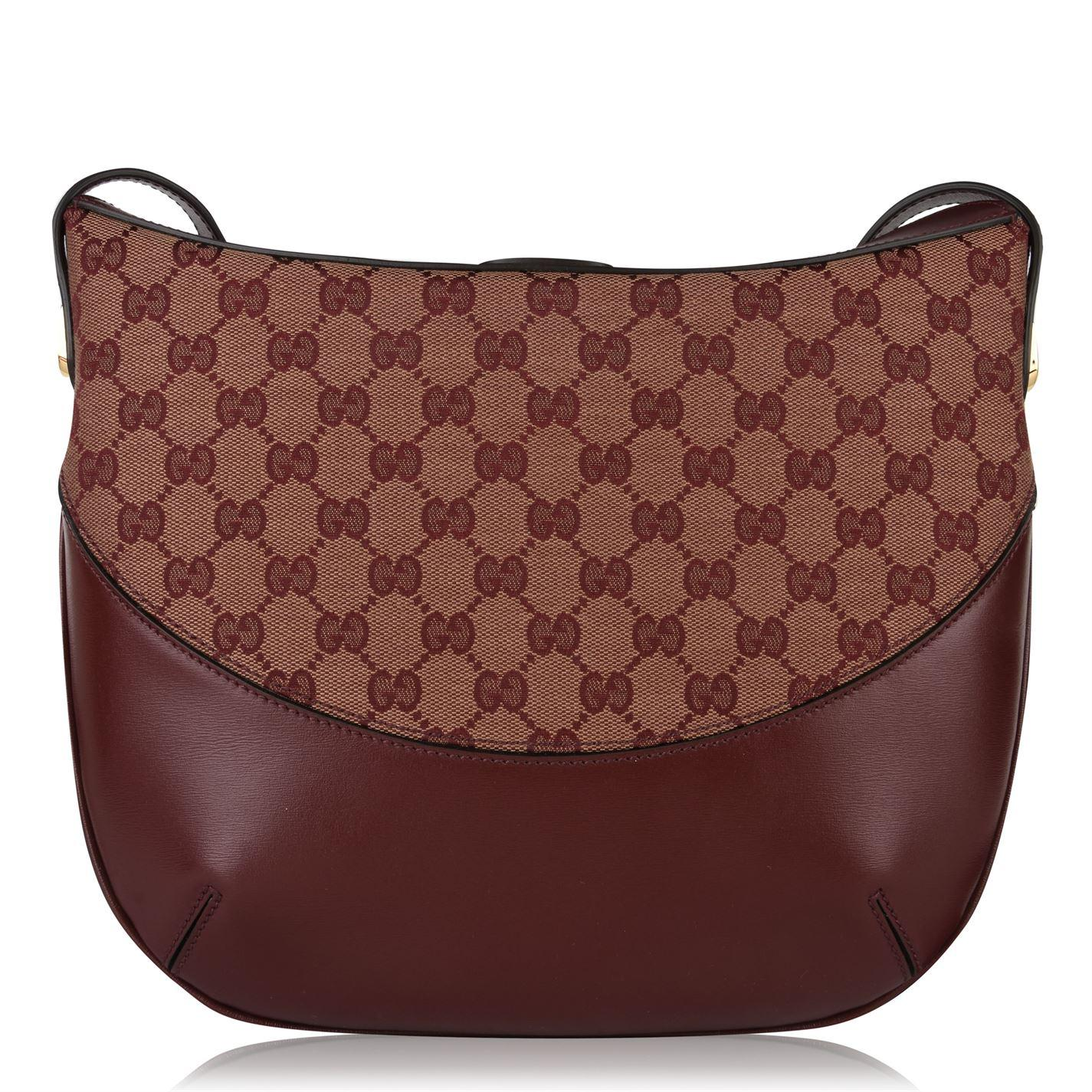 84f893a81 Gucci - Brown Arli Gg Shoulder Bag - Lyst. View fullscreen