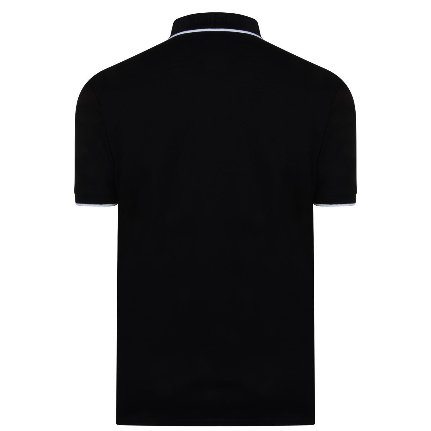 eb39466a Burberry Logo Polo Shirt in Black for Men - Lyst