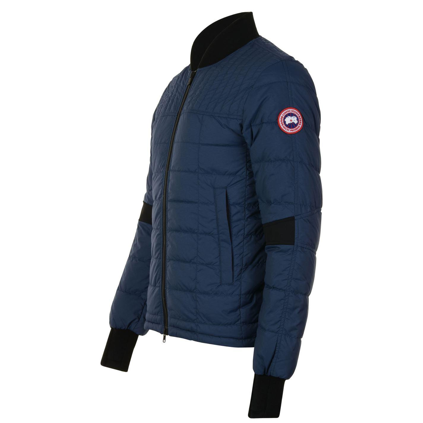 Canada Goose - Blue Dunham Bomber Jacket for Men - Lyst. View fullscreen