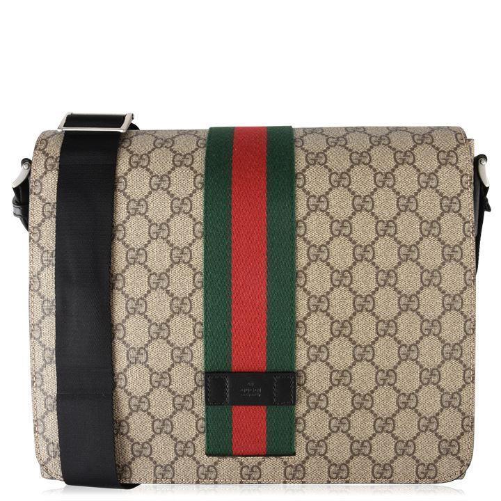 b379627b6 Gucci - Multicolor Gg Supreme Messenger Bag for Men - Lyst. View fullscreen