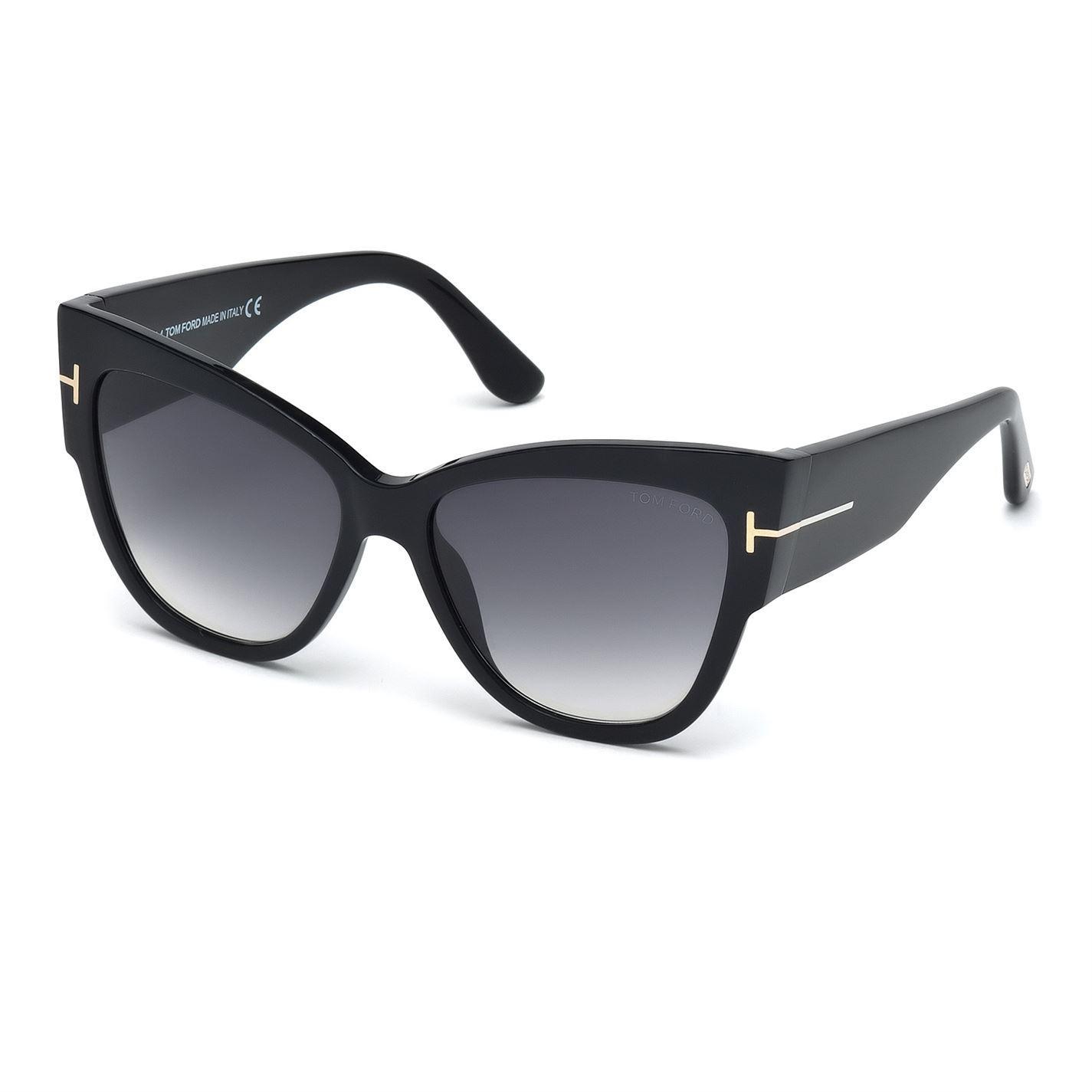 d5957fb1a0608 Tom Ford - Black Polarized Lauren Sunglasses - Lyst. View fullscreen