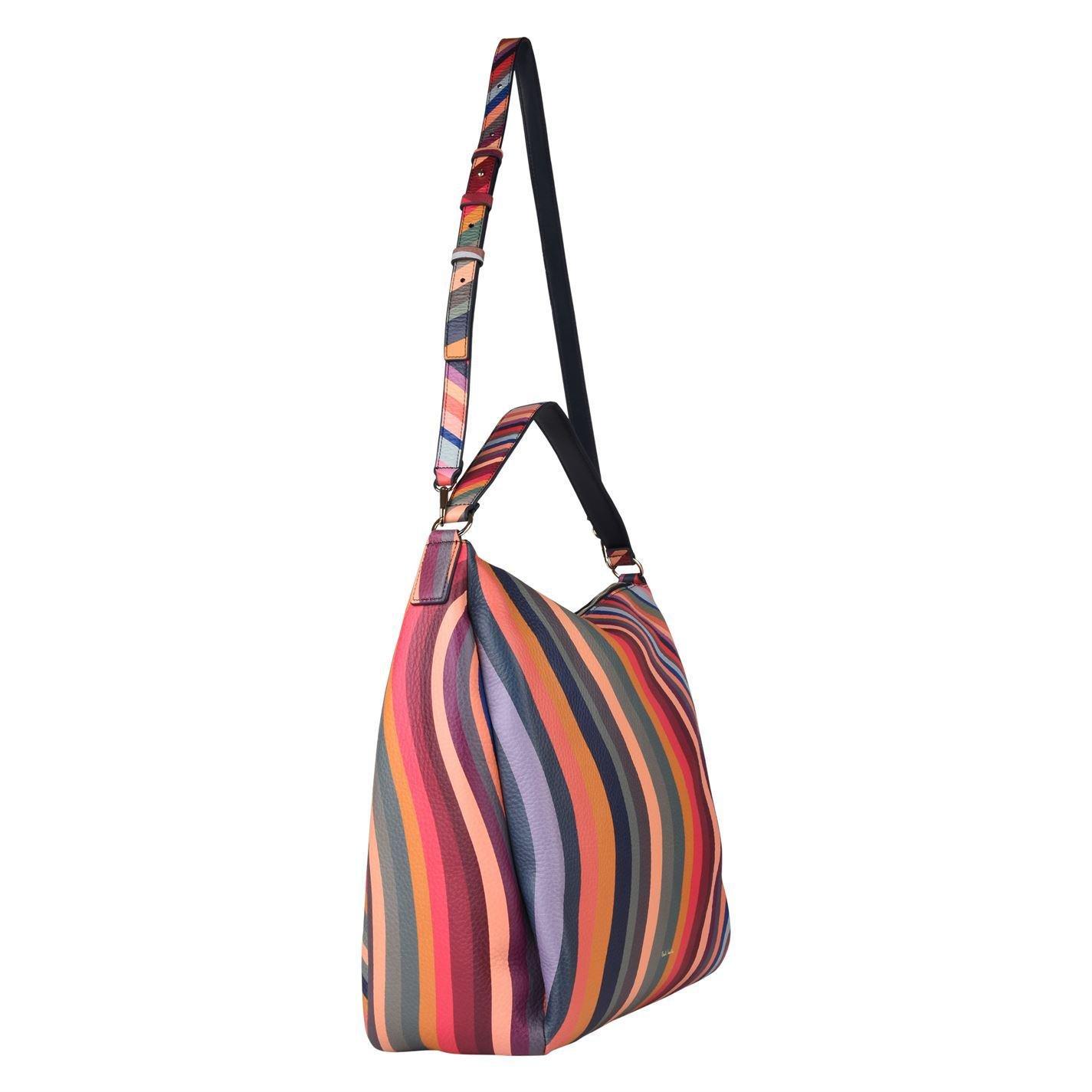 ... the latest f37fb c9c2e Paul Smith - Multicolor Swirl Zip Hobo Bag -  Lyst. 45e43b2449382