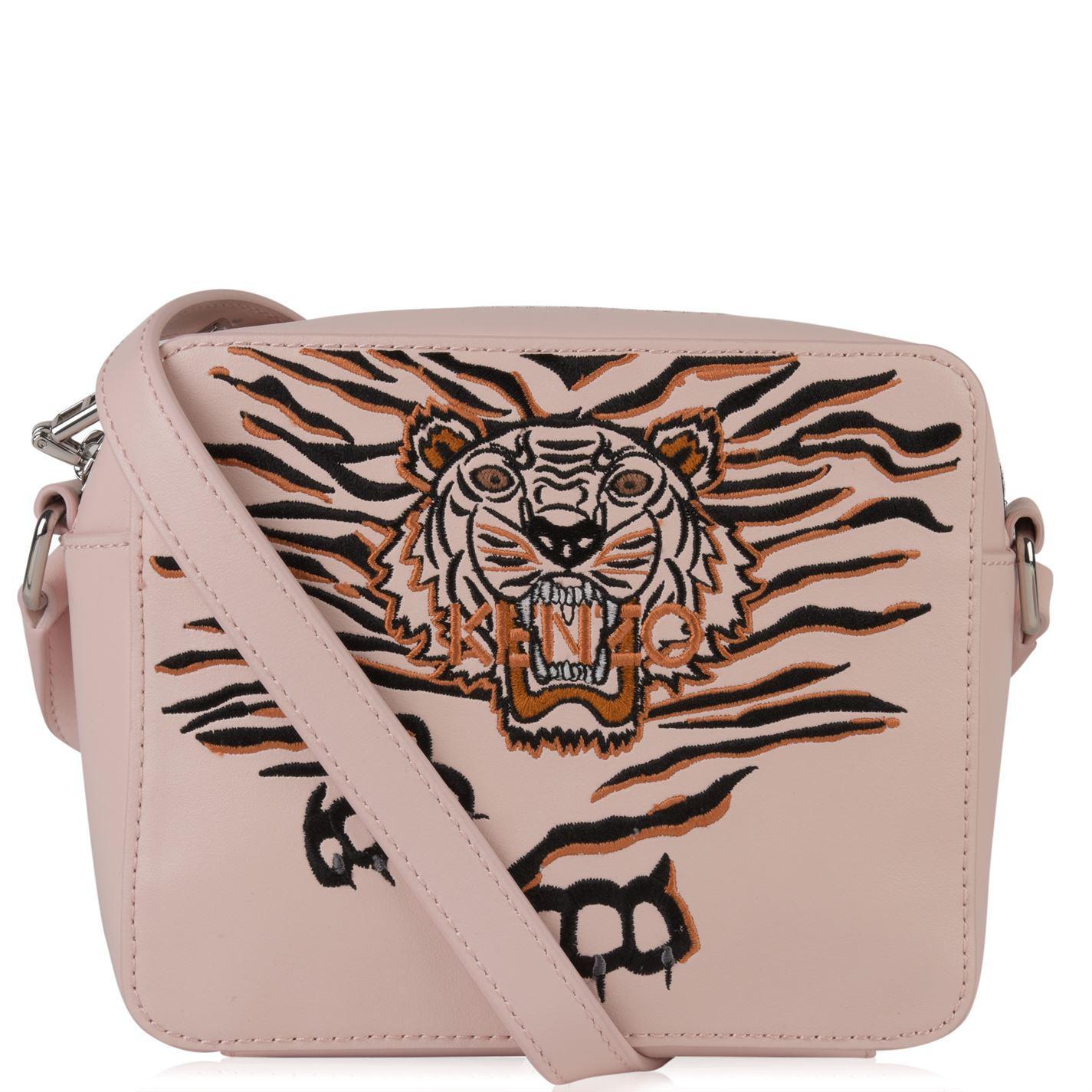 35962e5ac7 KENZO Crawling Tiger Camera Bag in Pink - Lyst