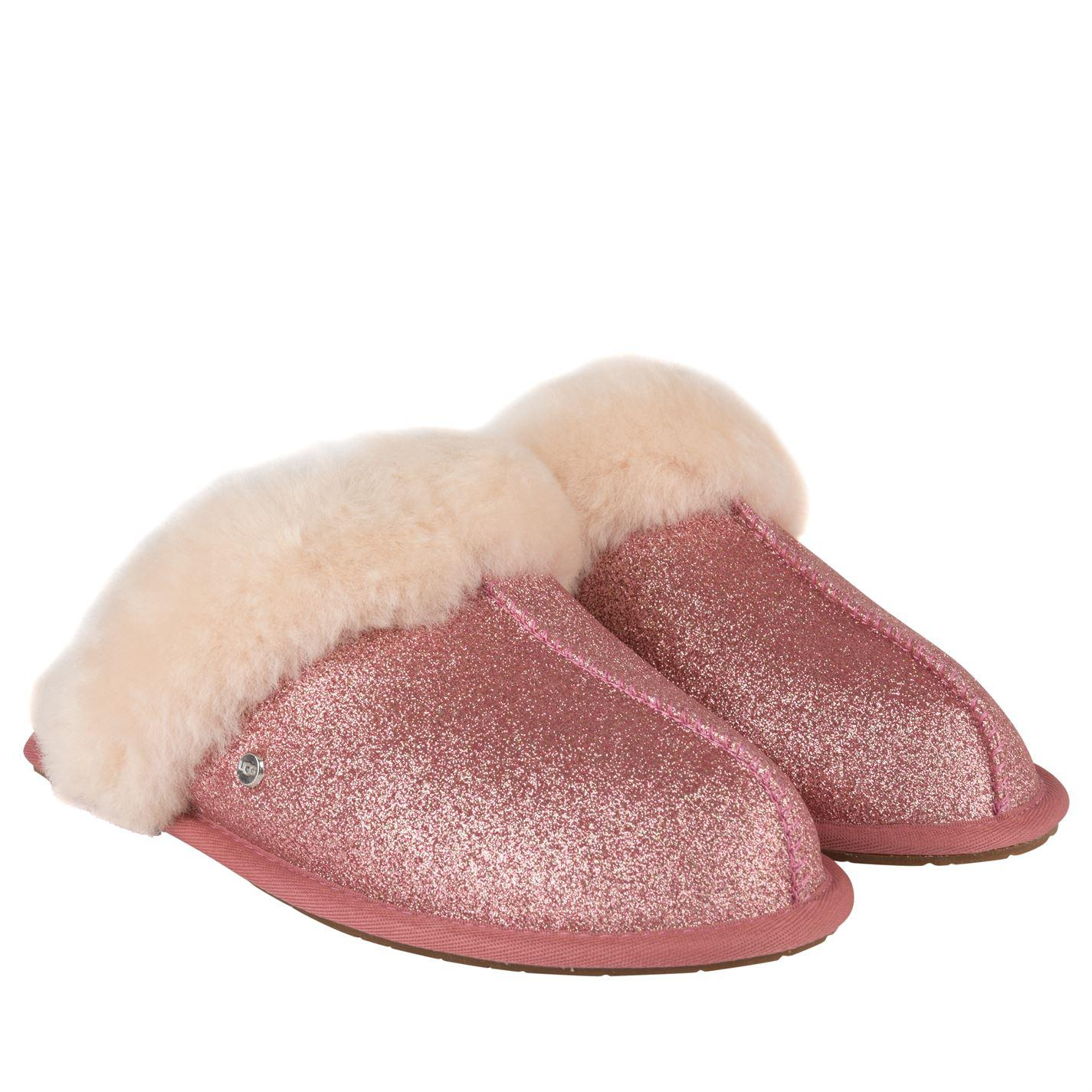 f66cde5fccf7 UGG Sparkle Slippers in Pink - Lyst