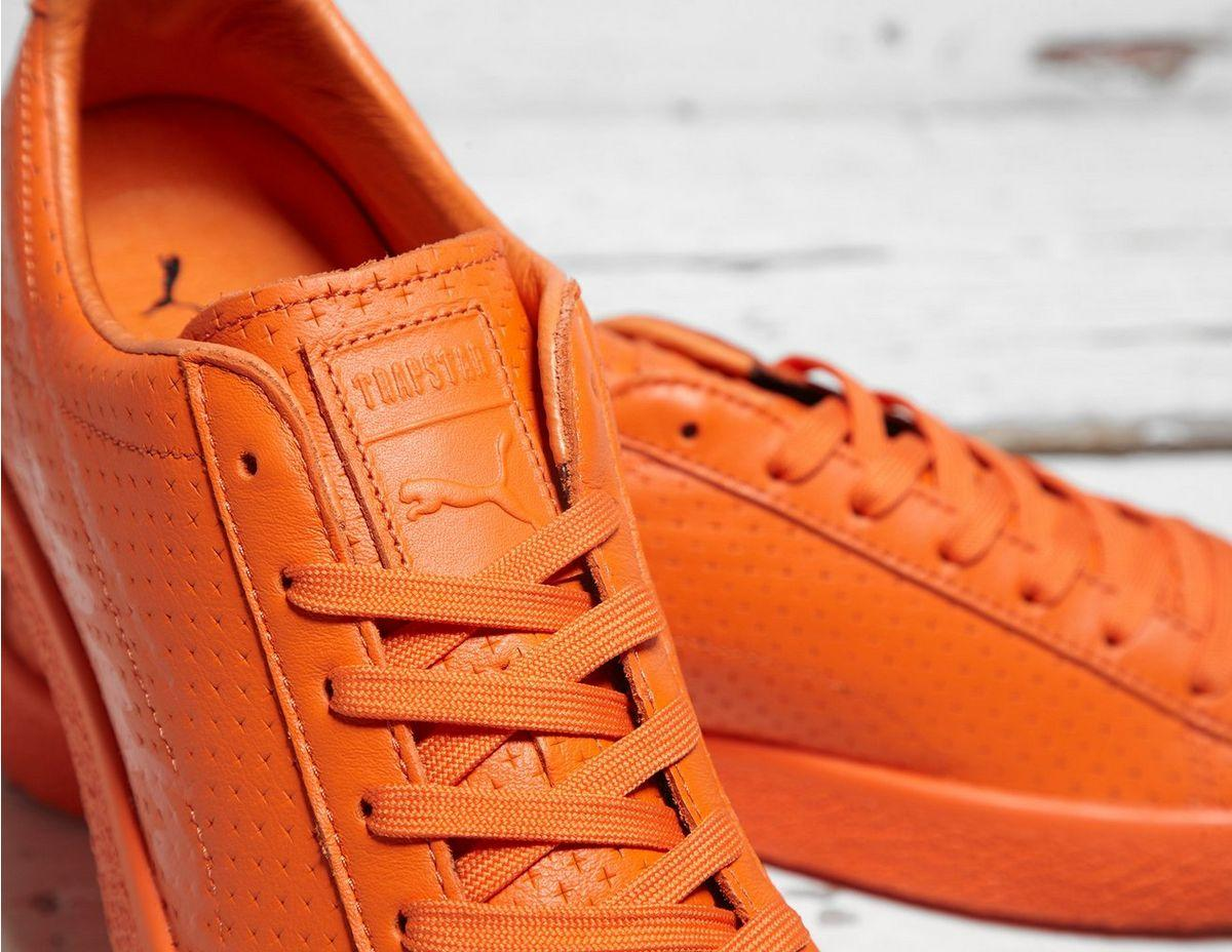 817059c162a PUMA - Red X Trapstar Clyde Perforated for Men - Lyst. View fullscreen