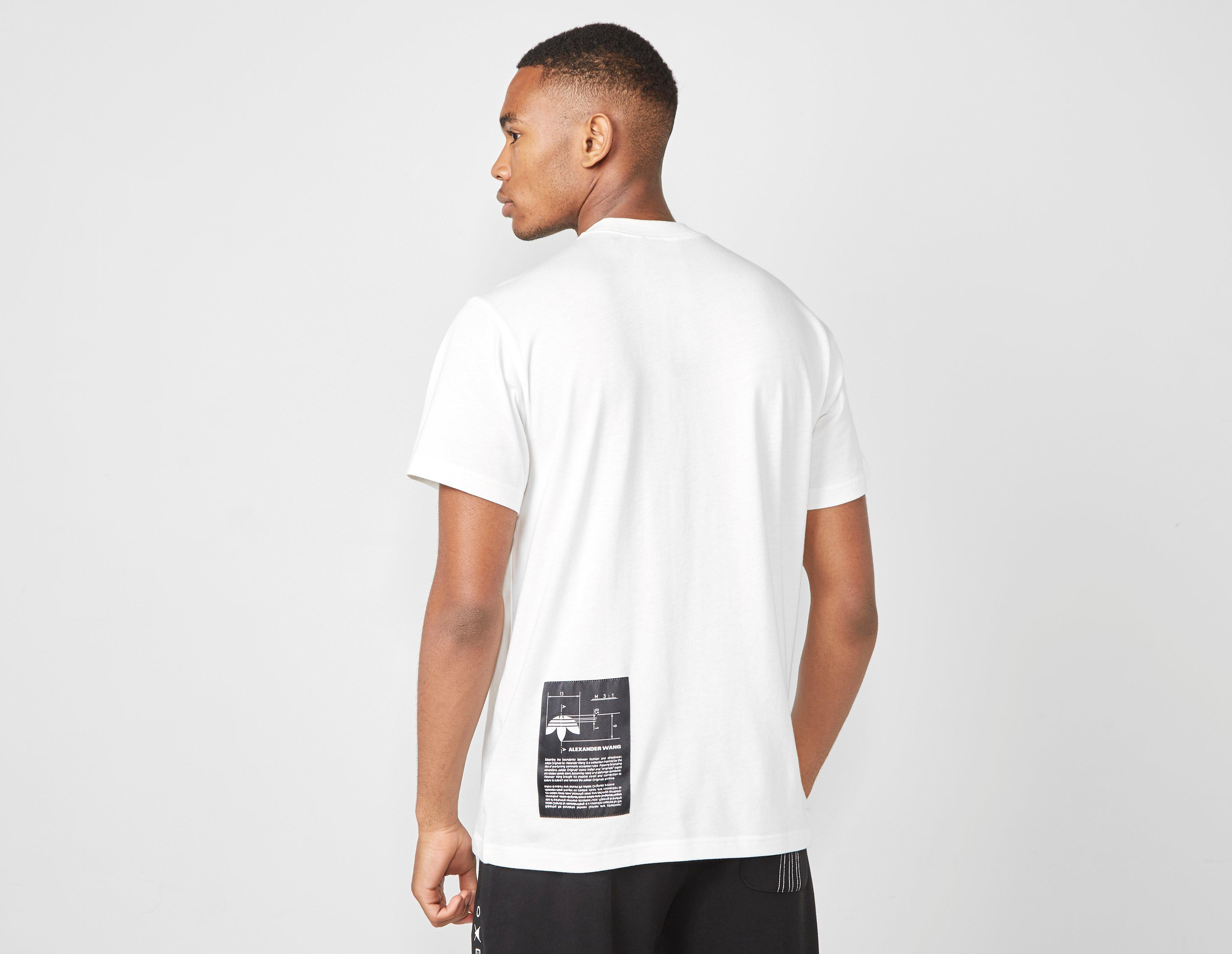 3a975ac3 adidas Originals By Alexander Wang Graphic T-shirt in White for Men ...