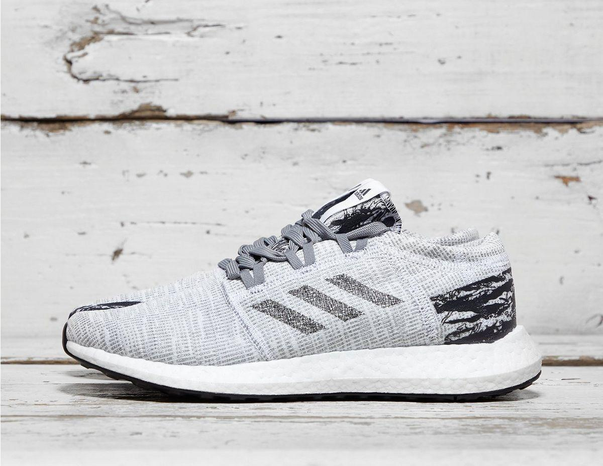 cb7b9d4b6baf8 Lyst - adidas X Undefeated Pure Boost Go in Gray for Men