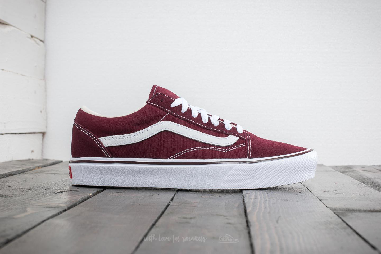 55cff9ea6c6e Lyst - Vans Old Skool Lite (suede canvas) Port Royal